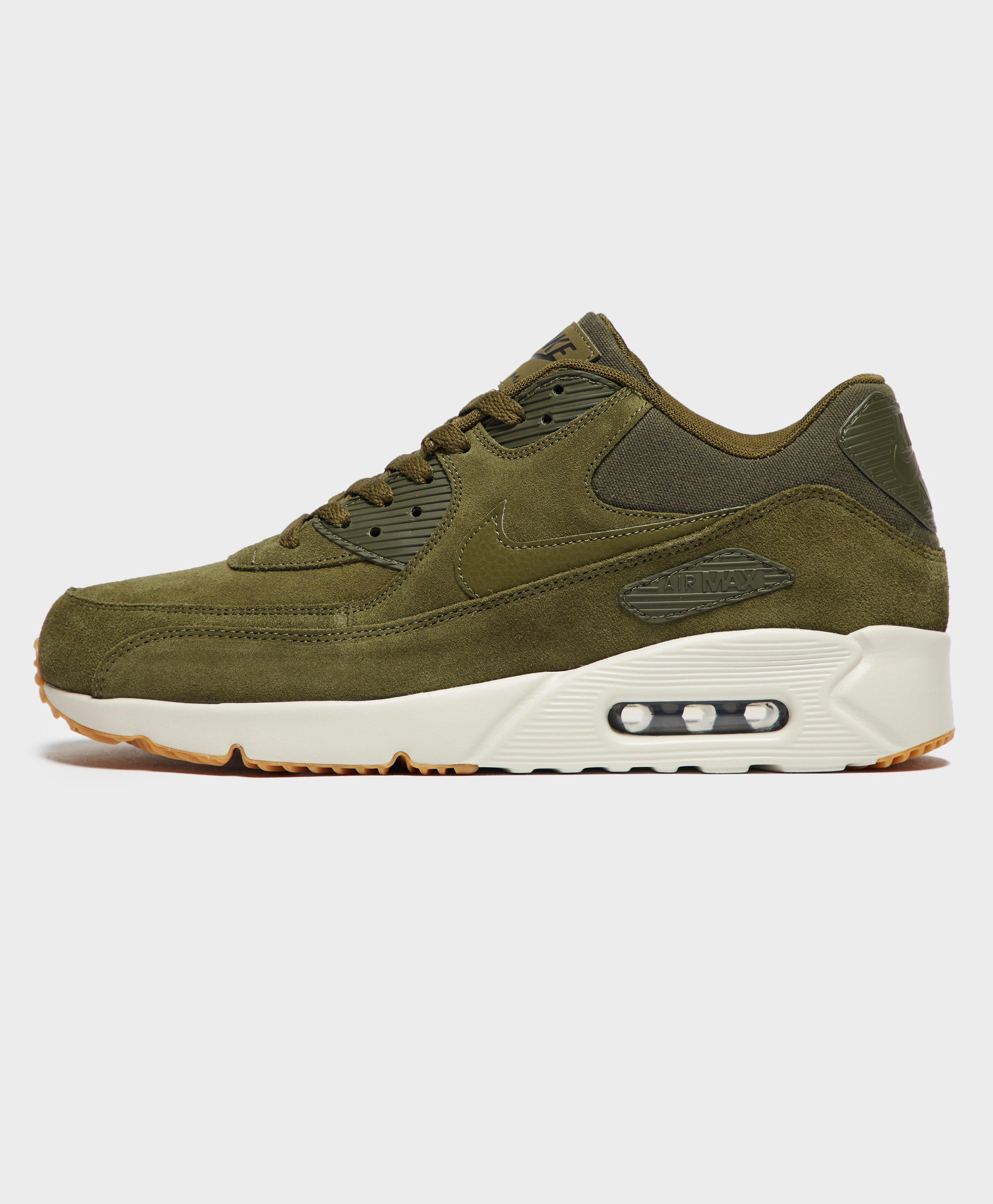 Nike Air Max 90 Ultra Suede in Green for Men - Lyst