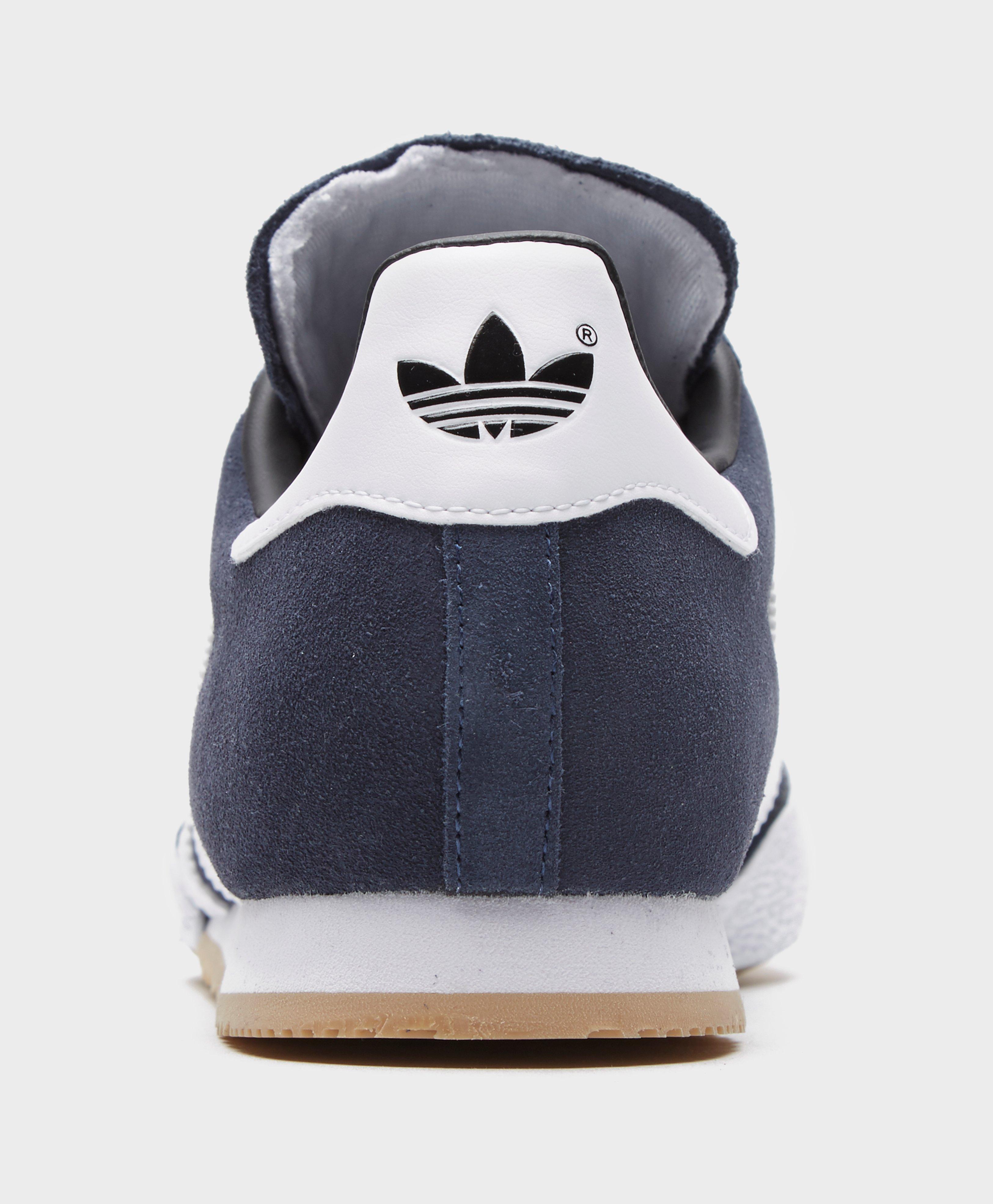 Residuos Quagga natural  adidas Originals Leather Samba Super in Navy Blue (Blue) for Men - Save 51%  - Lyst