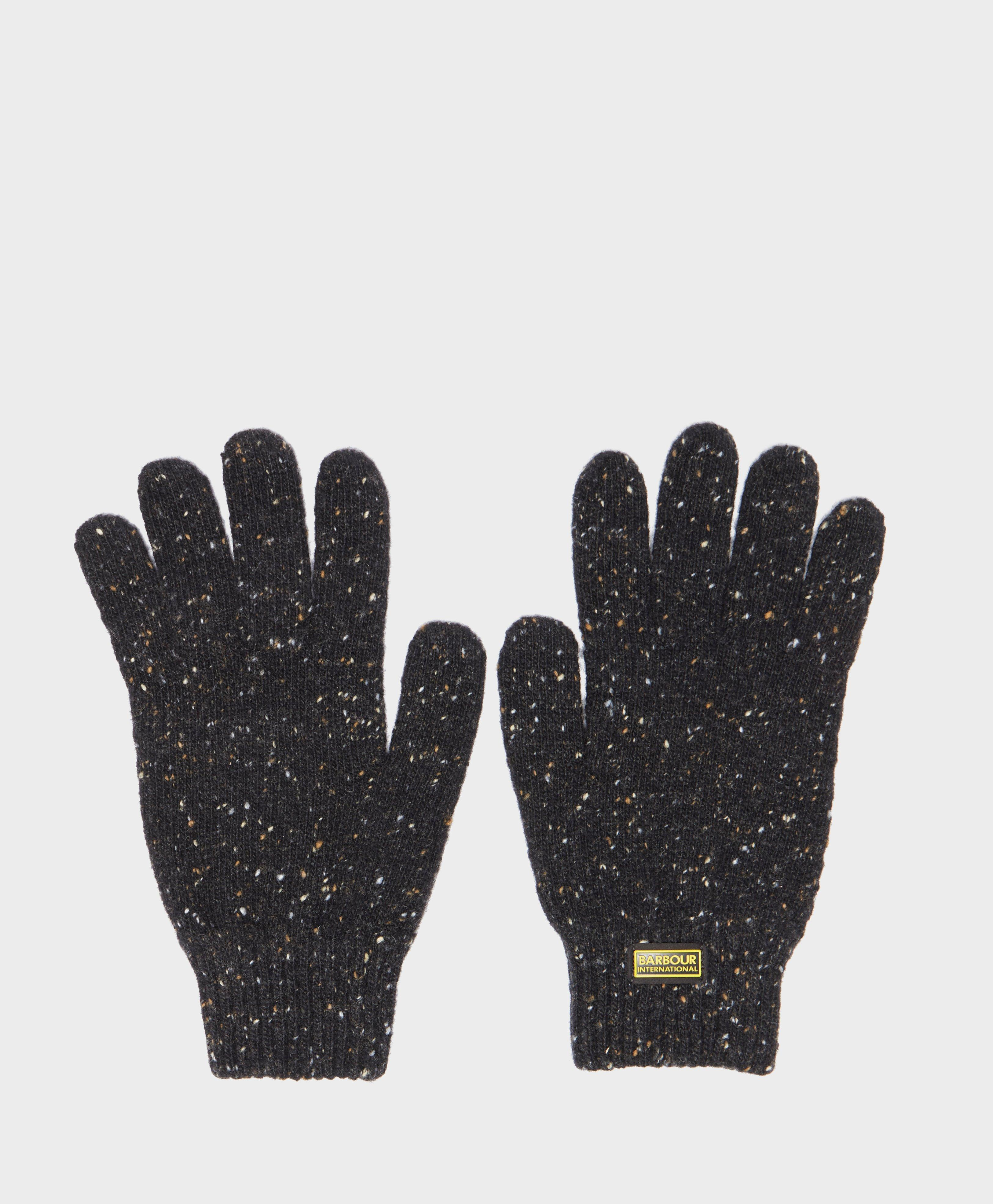 Barbour International Knit Gloves in Black for Men - Lyst