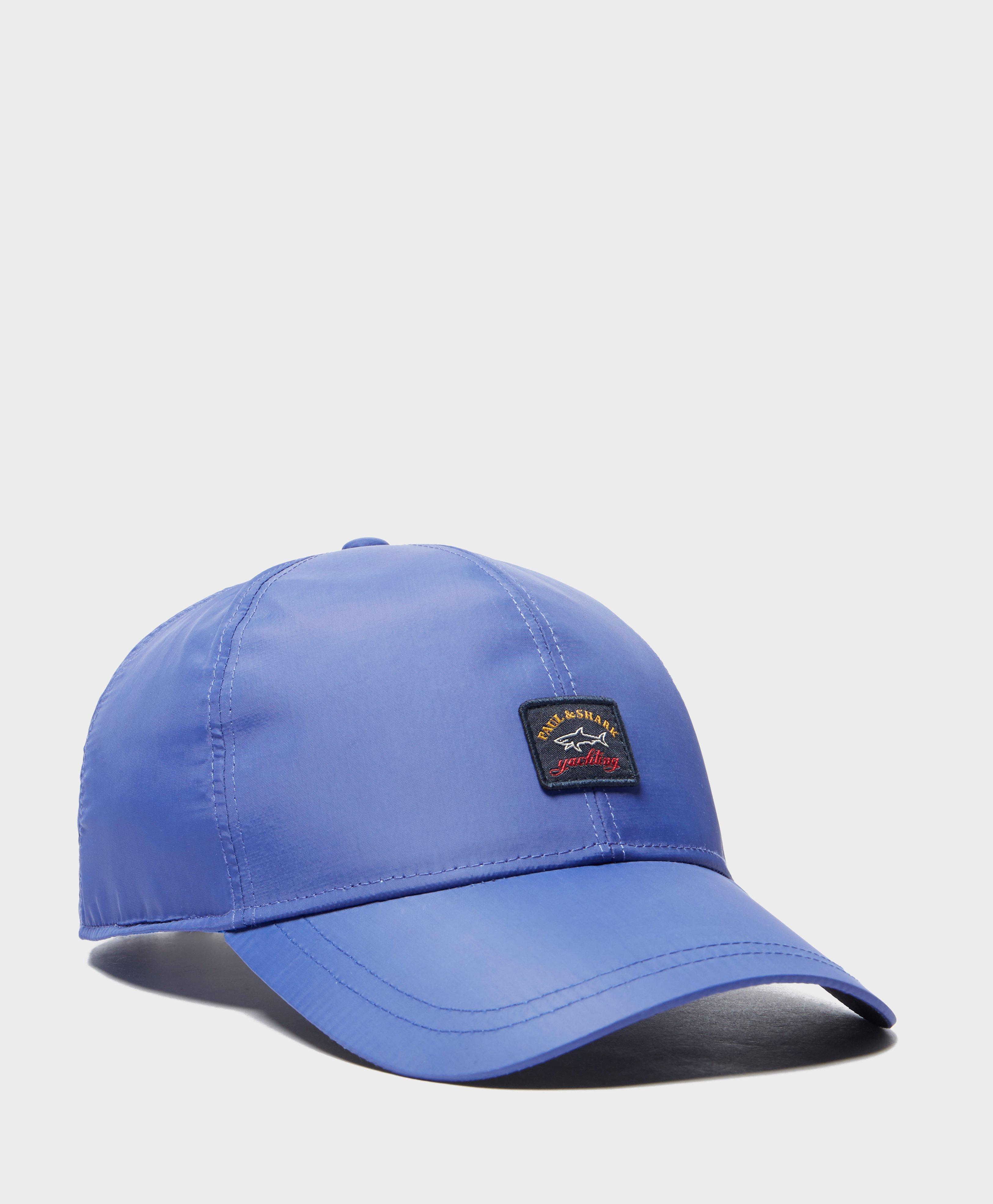 Paul And Shark Nylon Logo Cap in Blue for Men - Lyst b680cba1a42b