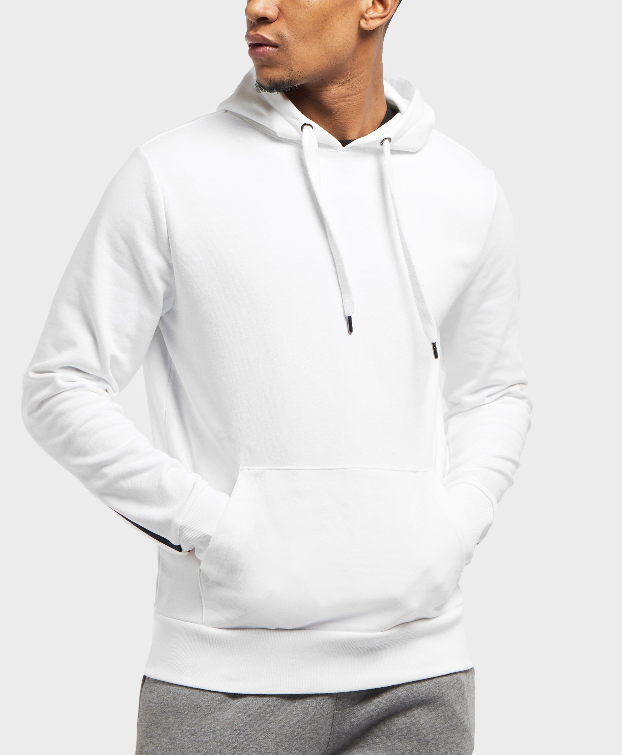 ce0c75043181e7 Lyst - Tommy Hilfiger Overhead Back Logo Hoodie in White for Men