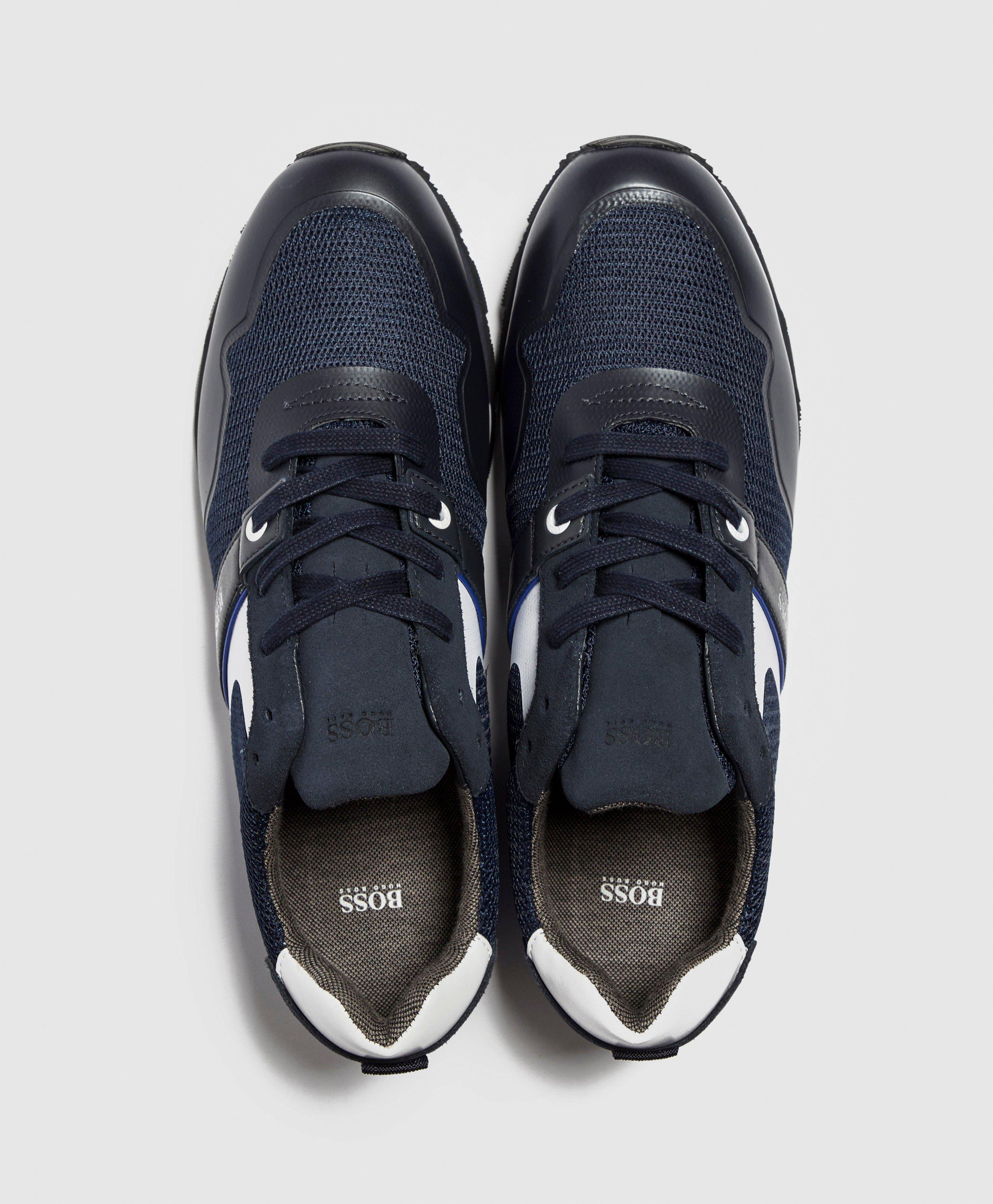 BOSS by Hugo Boss Leather Parkour Mesh