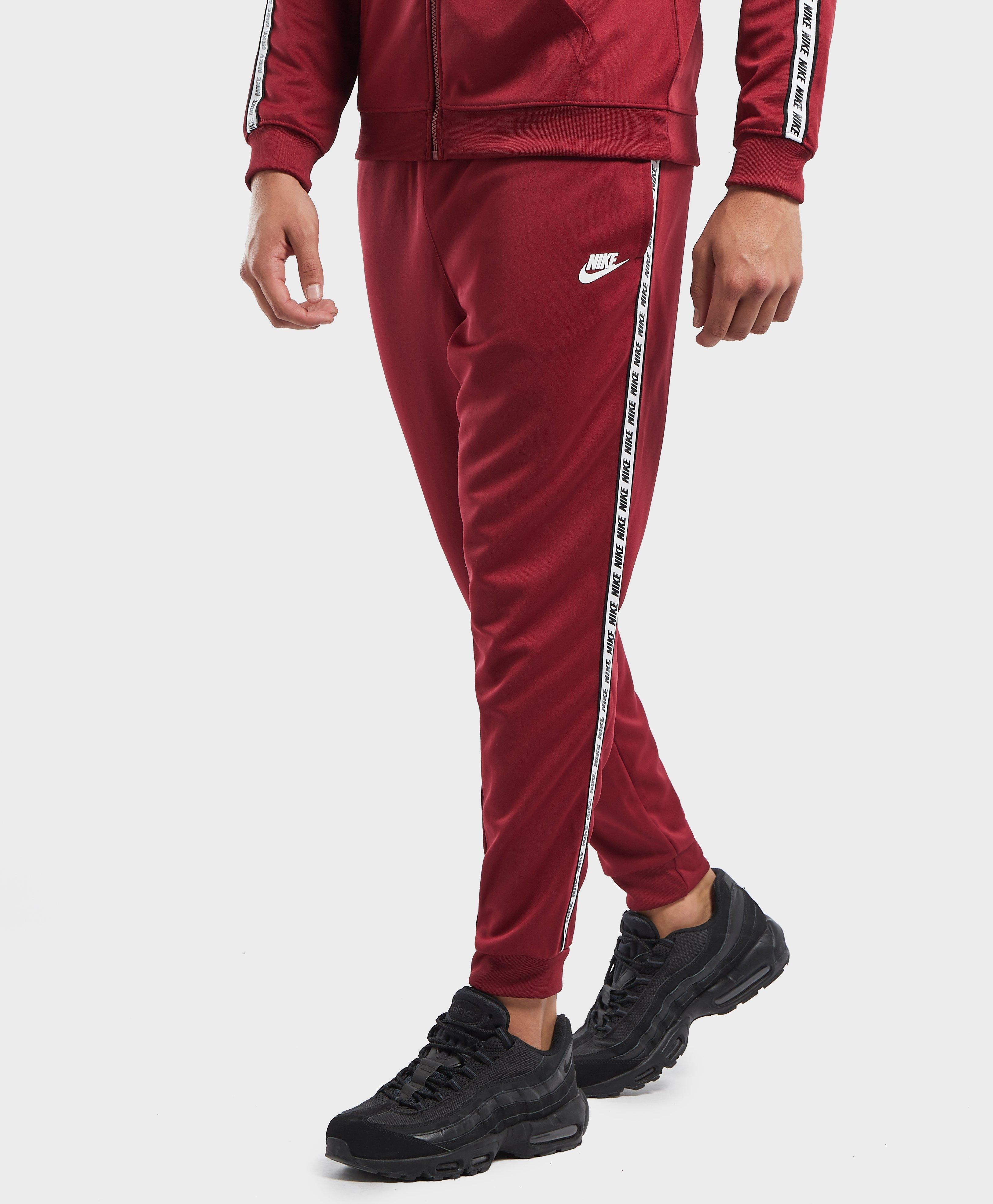 In Red Gel Track Nike Cuffed Tape Pants Men For Lyst UxXPqw1T