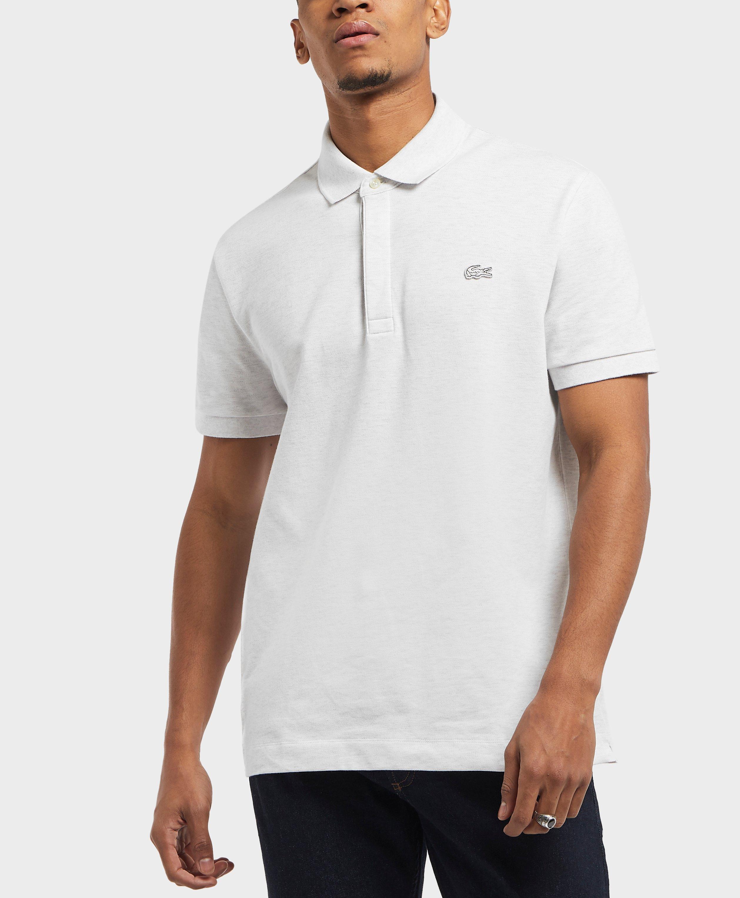 e18c0c2372 Lyst - Lacoste Short Sleeve Paris Polo Shirt in White for Men