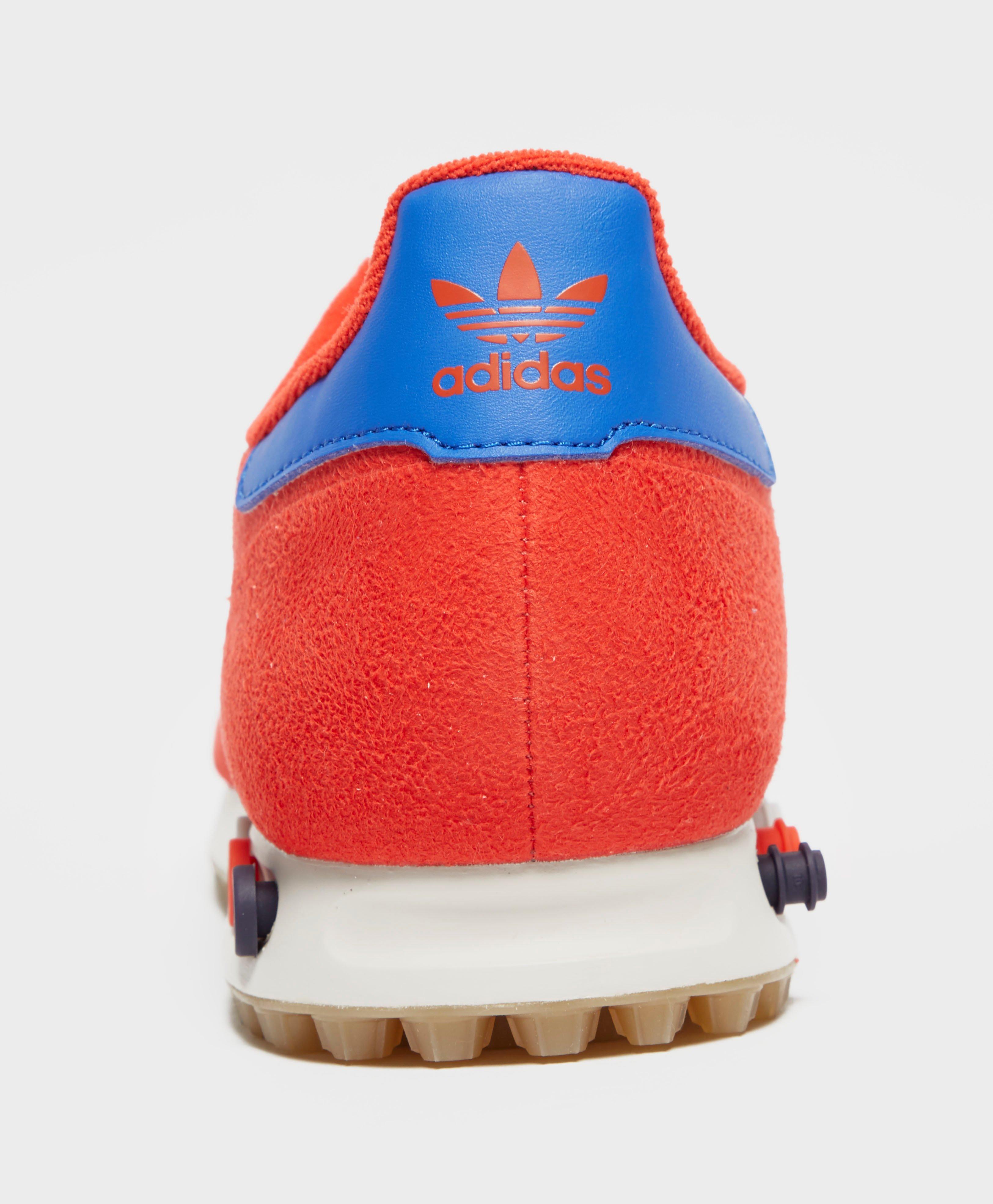adidas Originals Synthetic La Trainer in Red for Men
