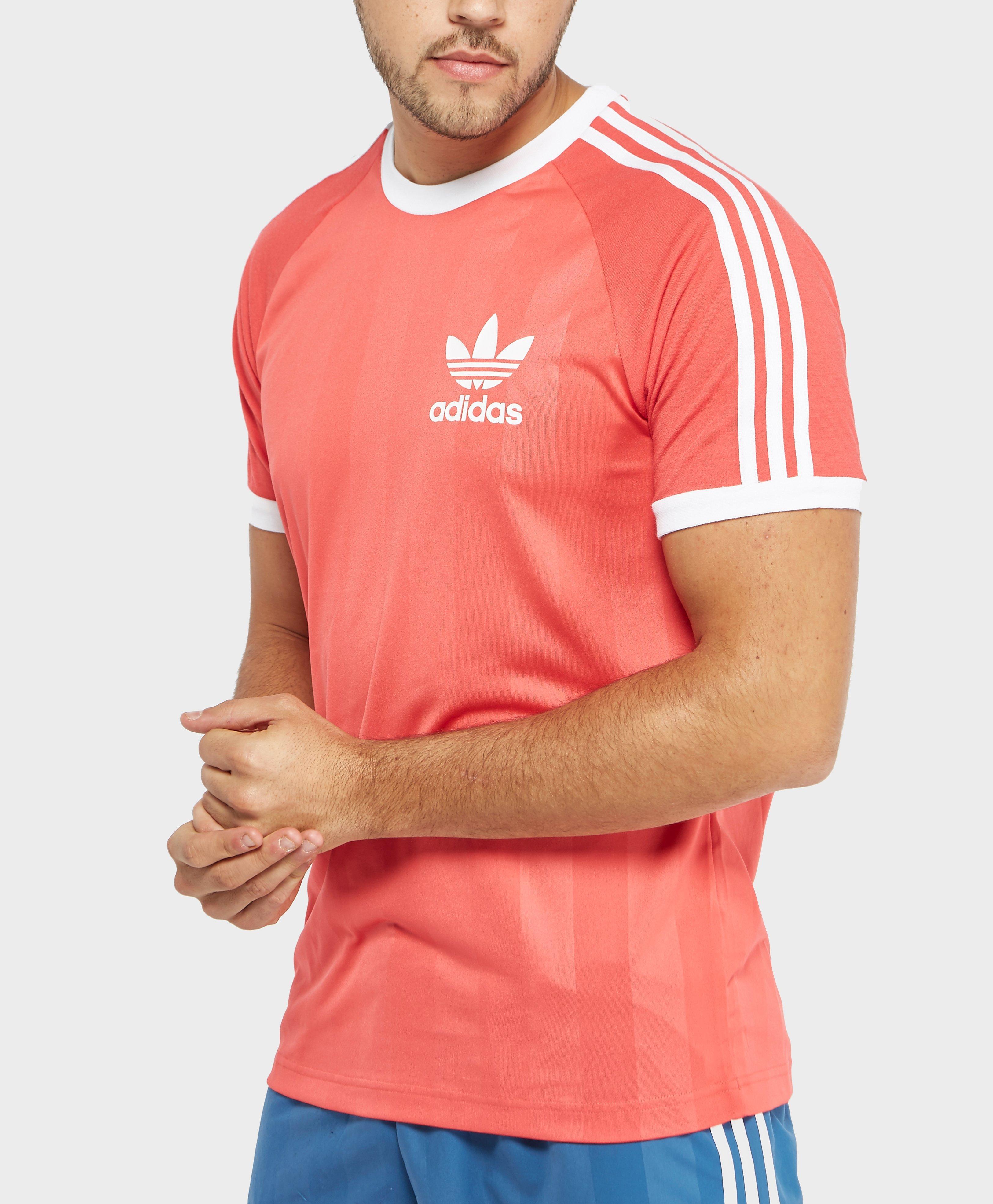 Originals T In California Trefoil Shirt Adidas Synthetic