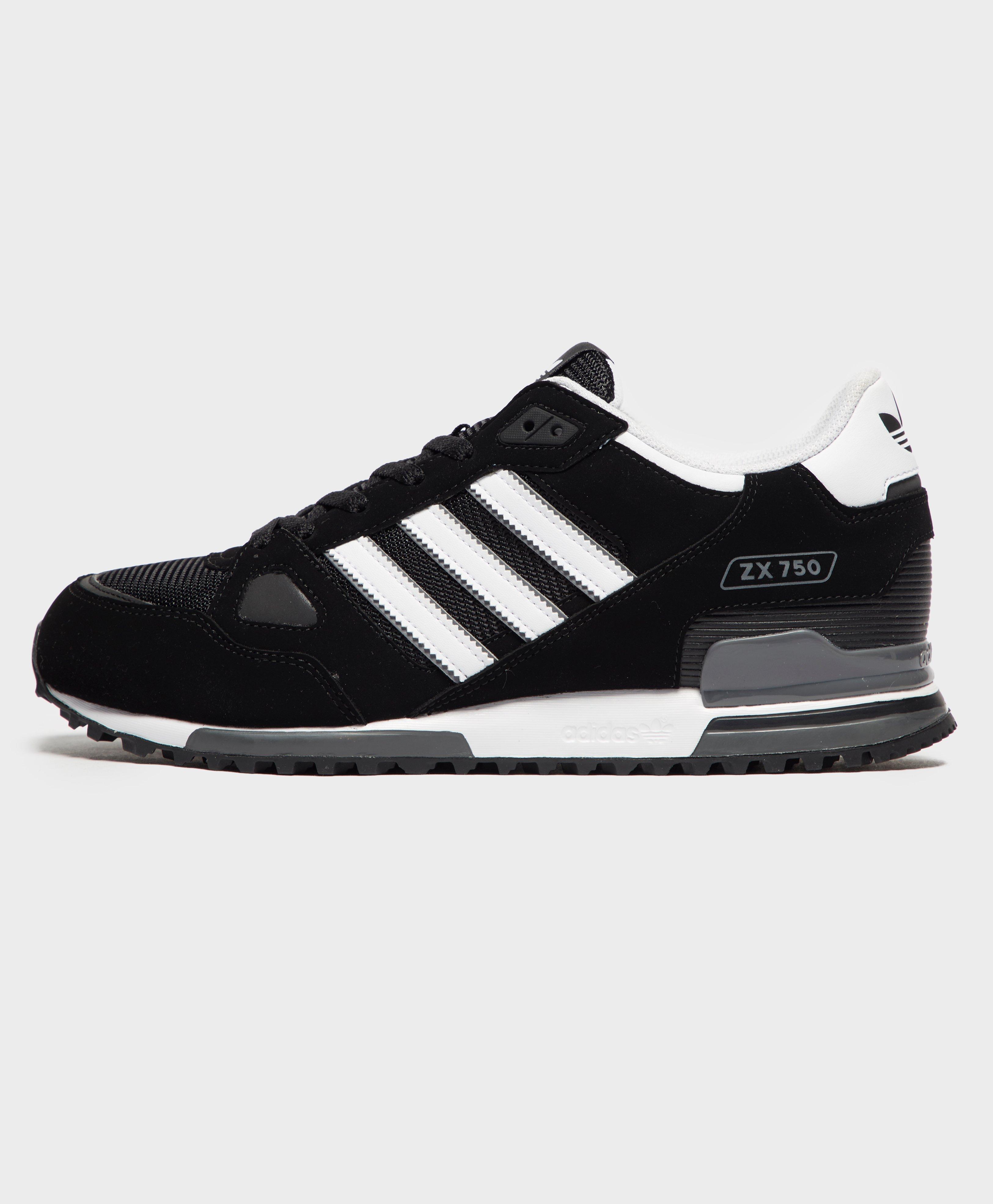 costilla tirar a la basura Aceptado  adidas Originals Synthetic Zx 750 in Black/White (Black) for Men - Lyst