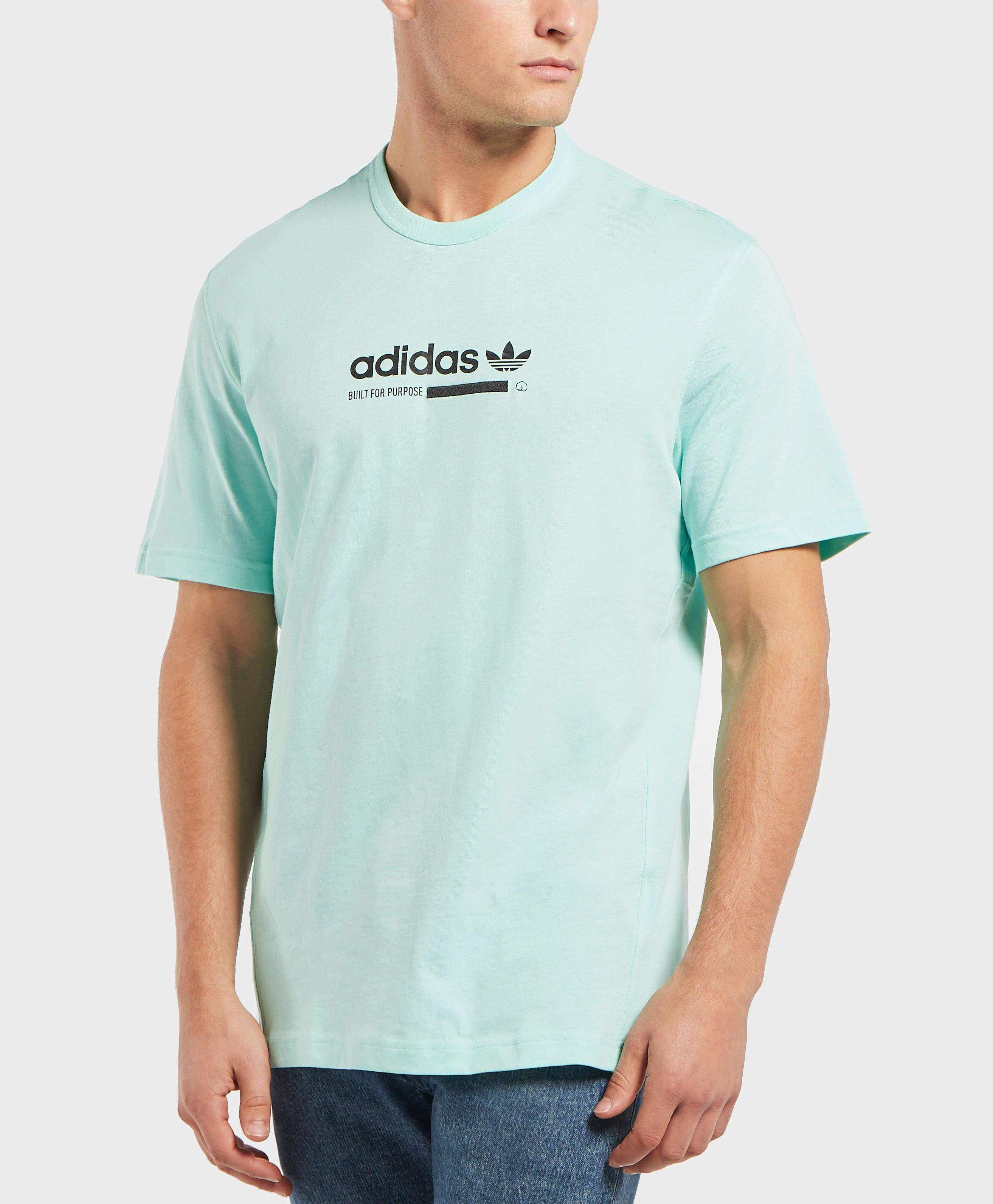 013ca6754 Adidas Originals Kaval Short Sleeve T-shirt in Blue for Men - Lyst