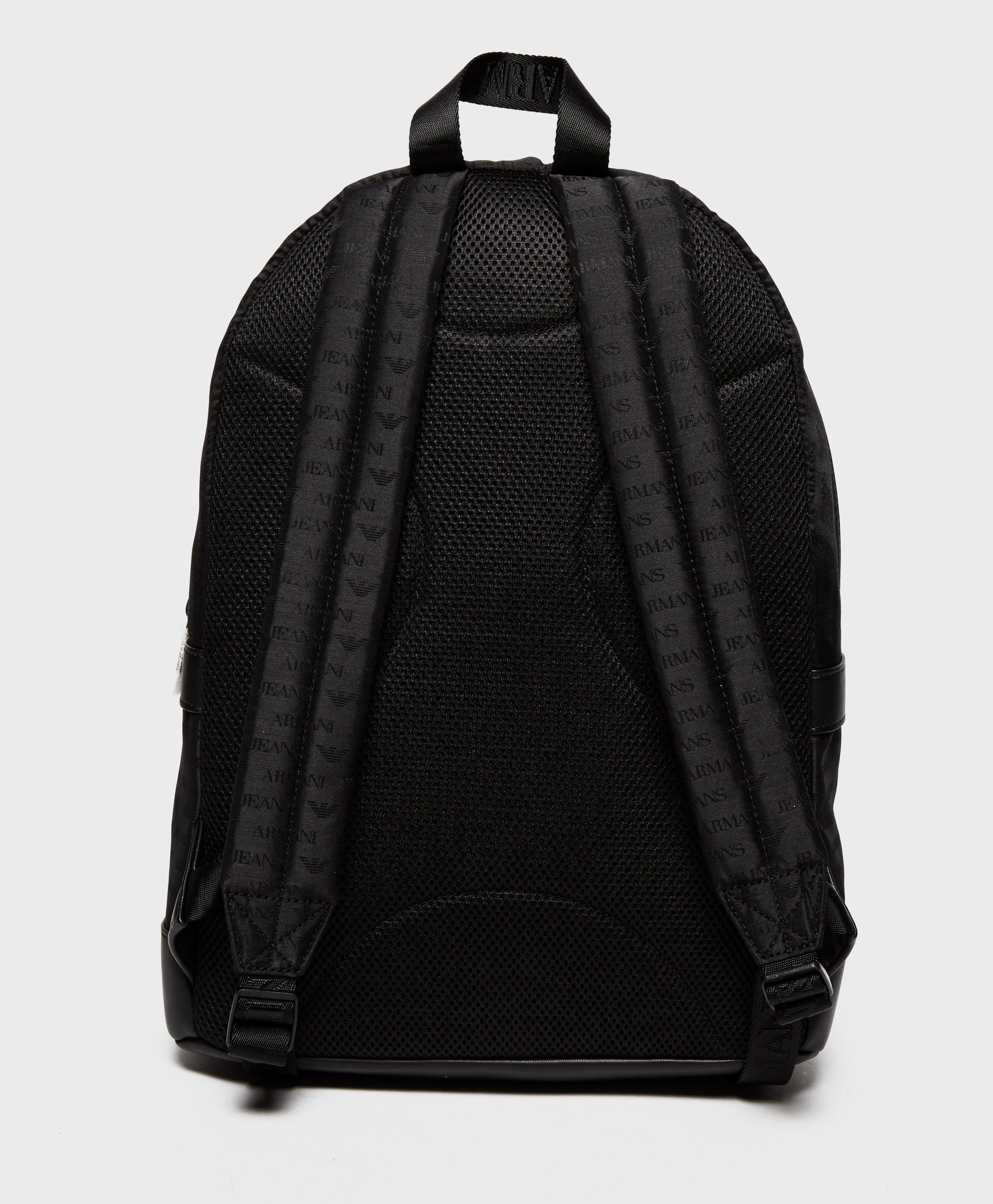 Armani Jeans Nylon Backpack in Black for Men - Lyst 920f4687dc7ff