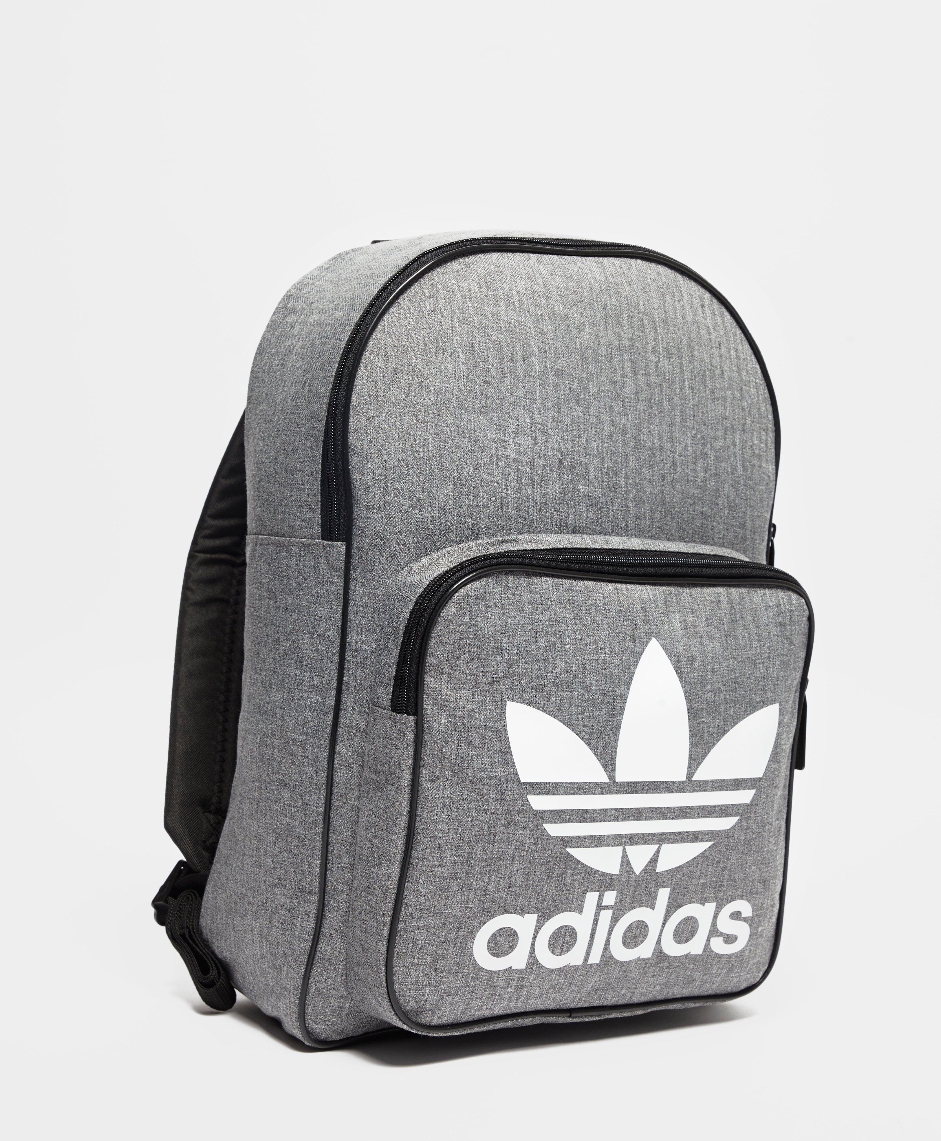 12f06870c1fe adidas Originals Classic Trefoil Backpack in Gray for Men - Lyst