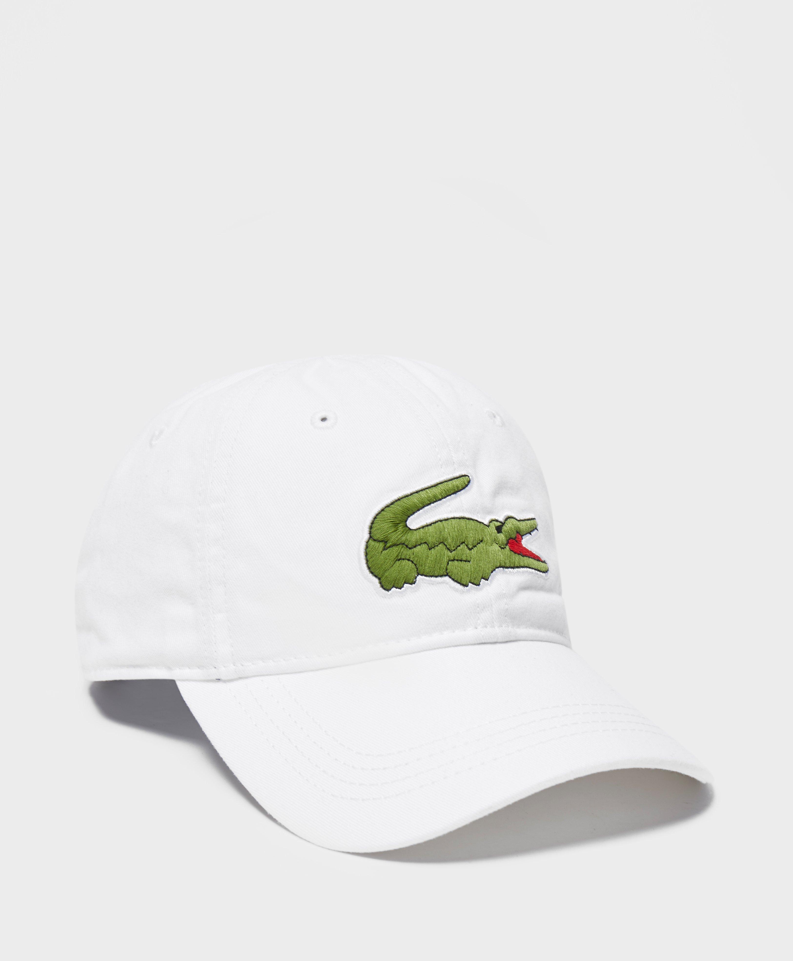 f0933ba3 Lyst - Lacoste Large Croc Cap for Men
