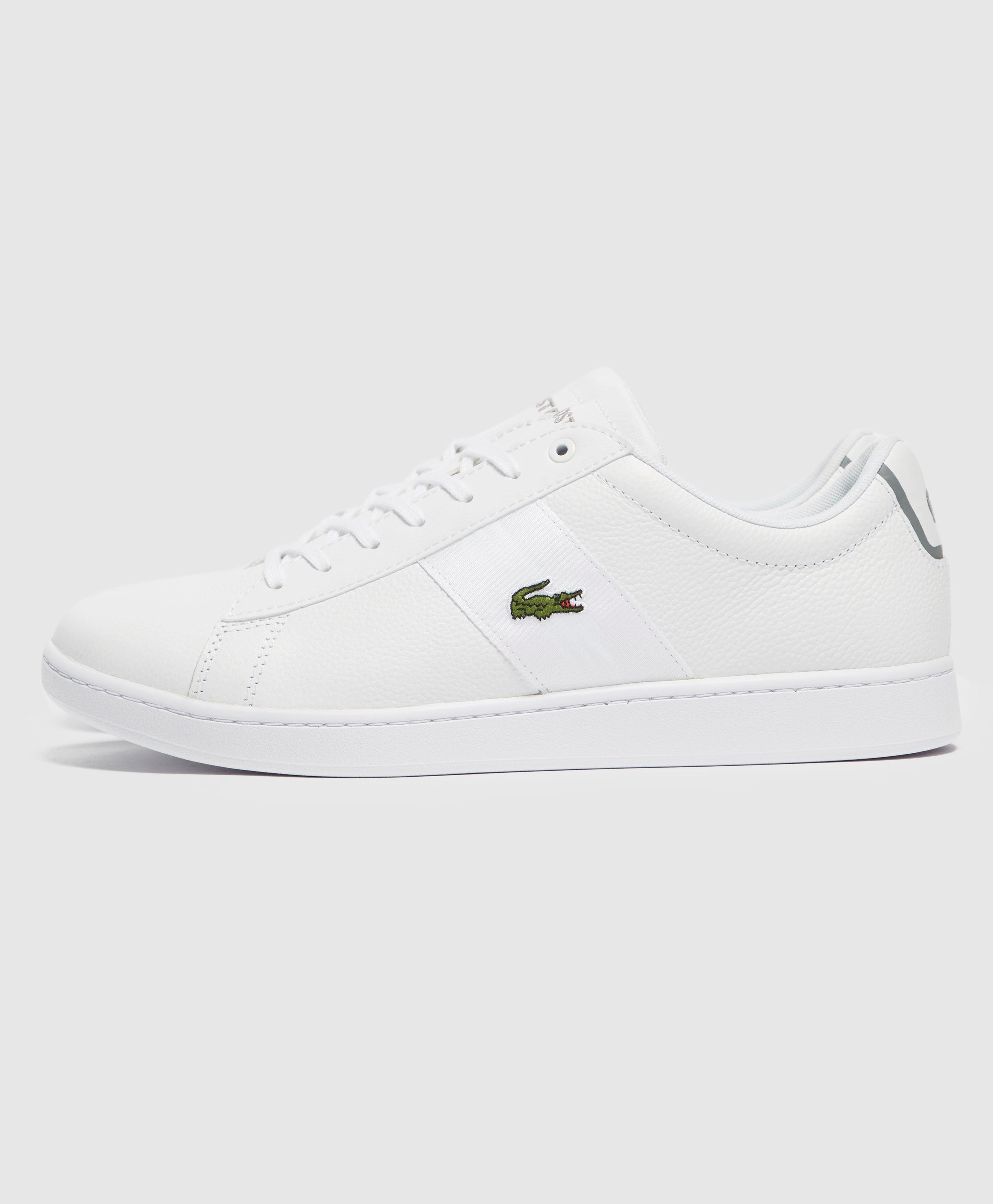 Lacoste Synthetic Carnaby Tape in White