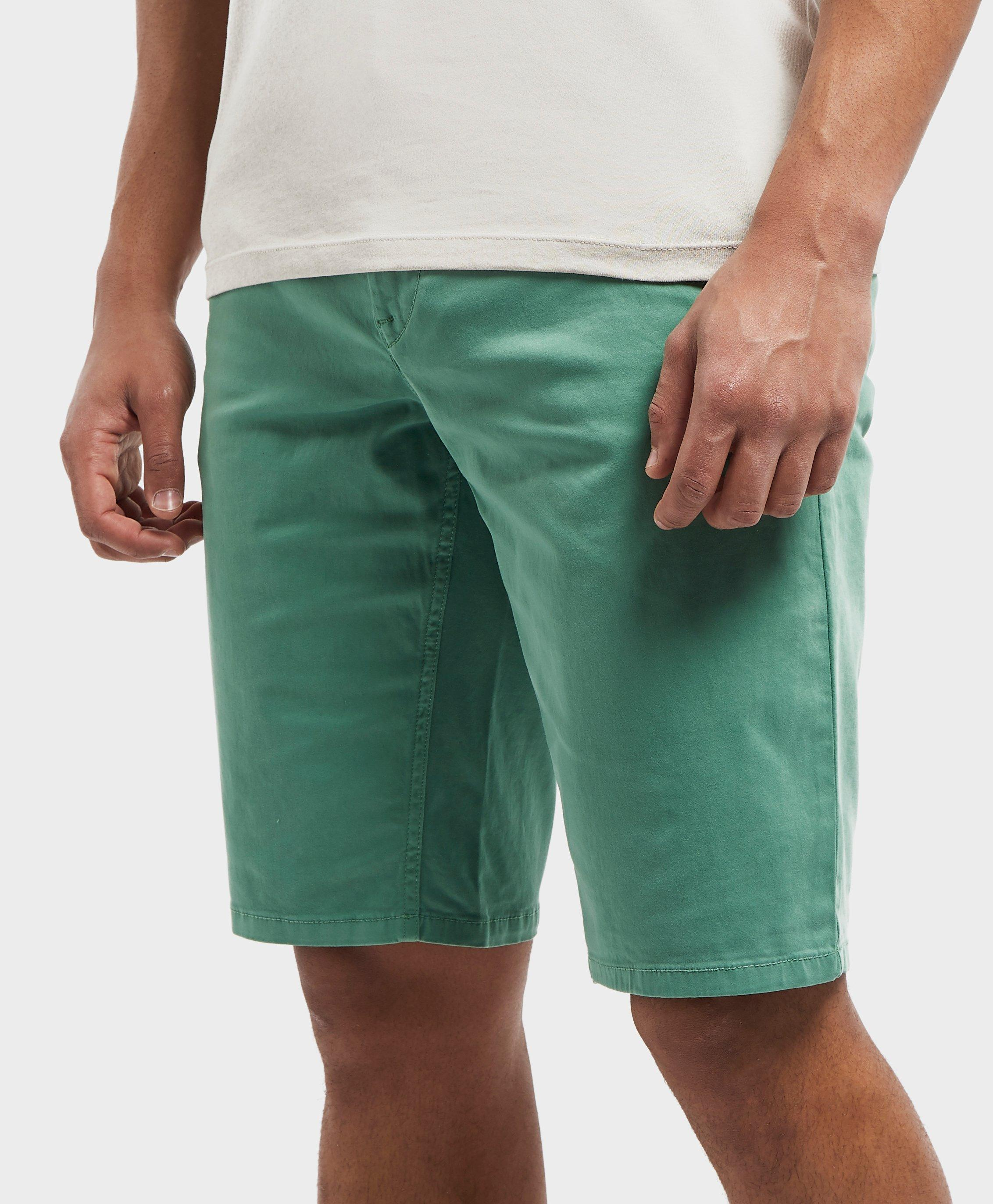 3fe15b2f BOSS Schino Slim Shorts in Green for Men - Lyst