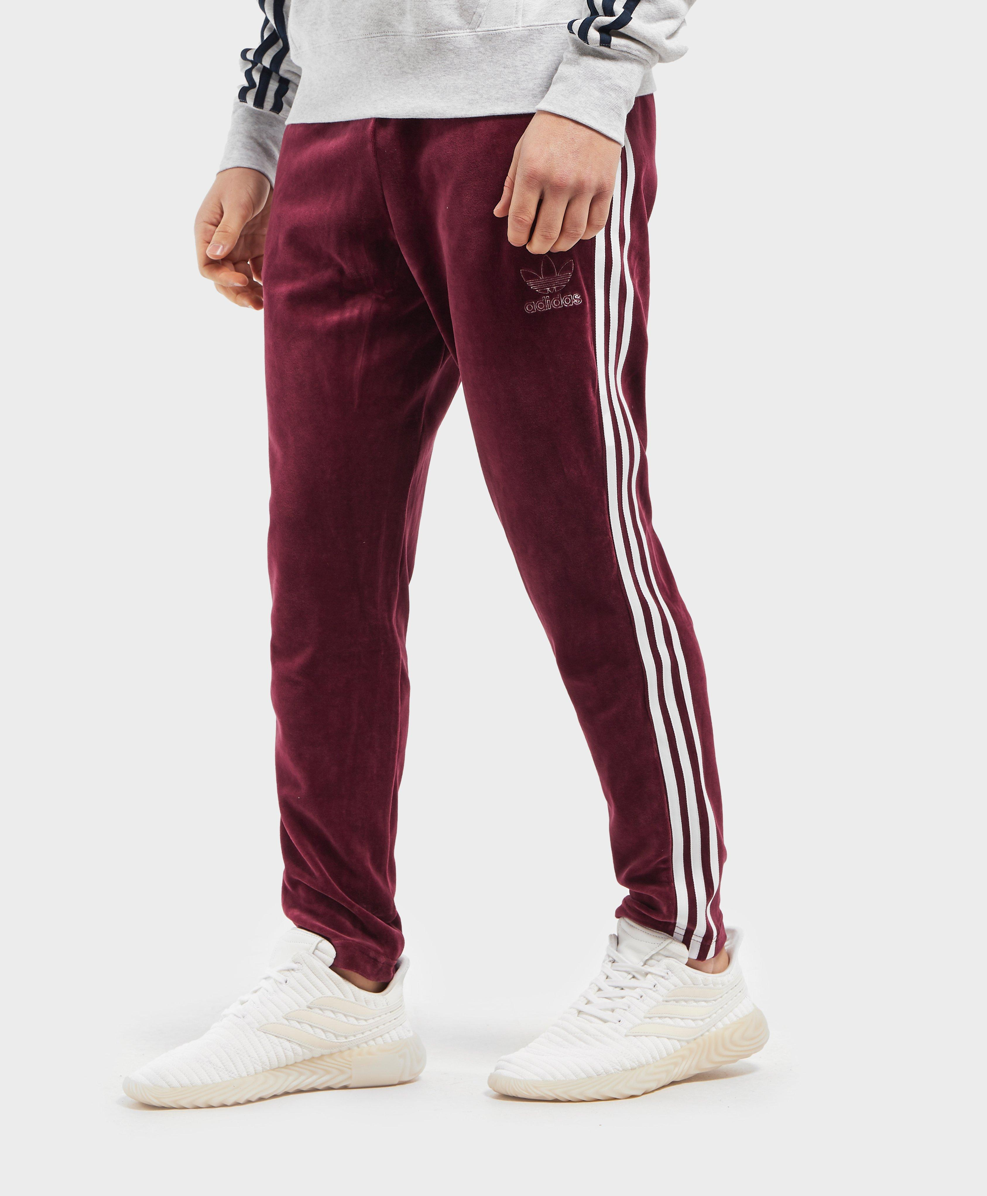 Velour Track Pants Adidas Promo Code For 75312 Ae6c7