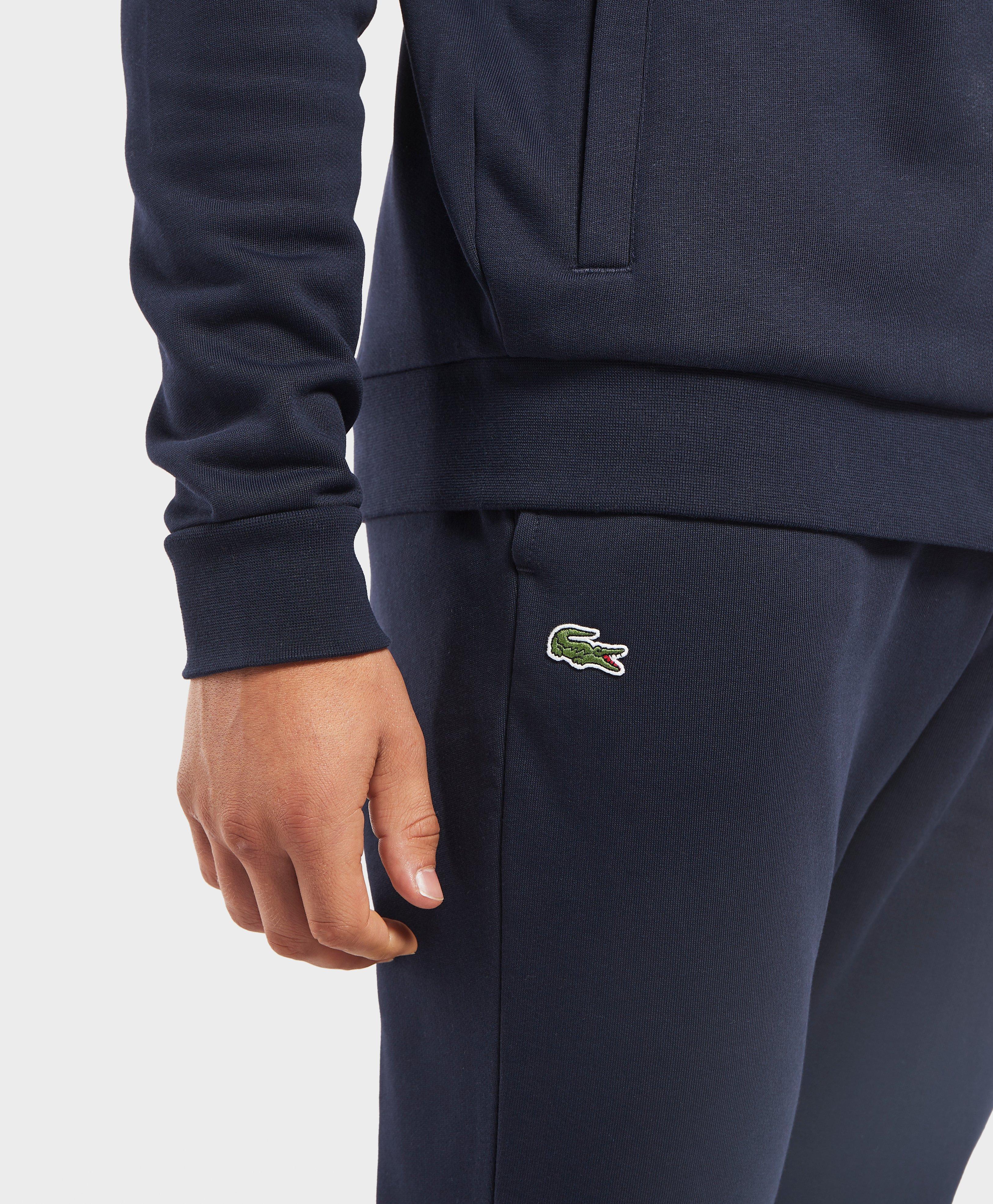 60b77b52 Lacoste Slim Cuffed Fleece Joggers in Blue for Men - Lyst