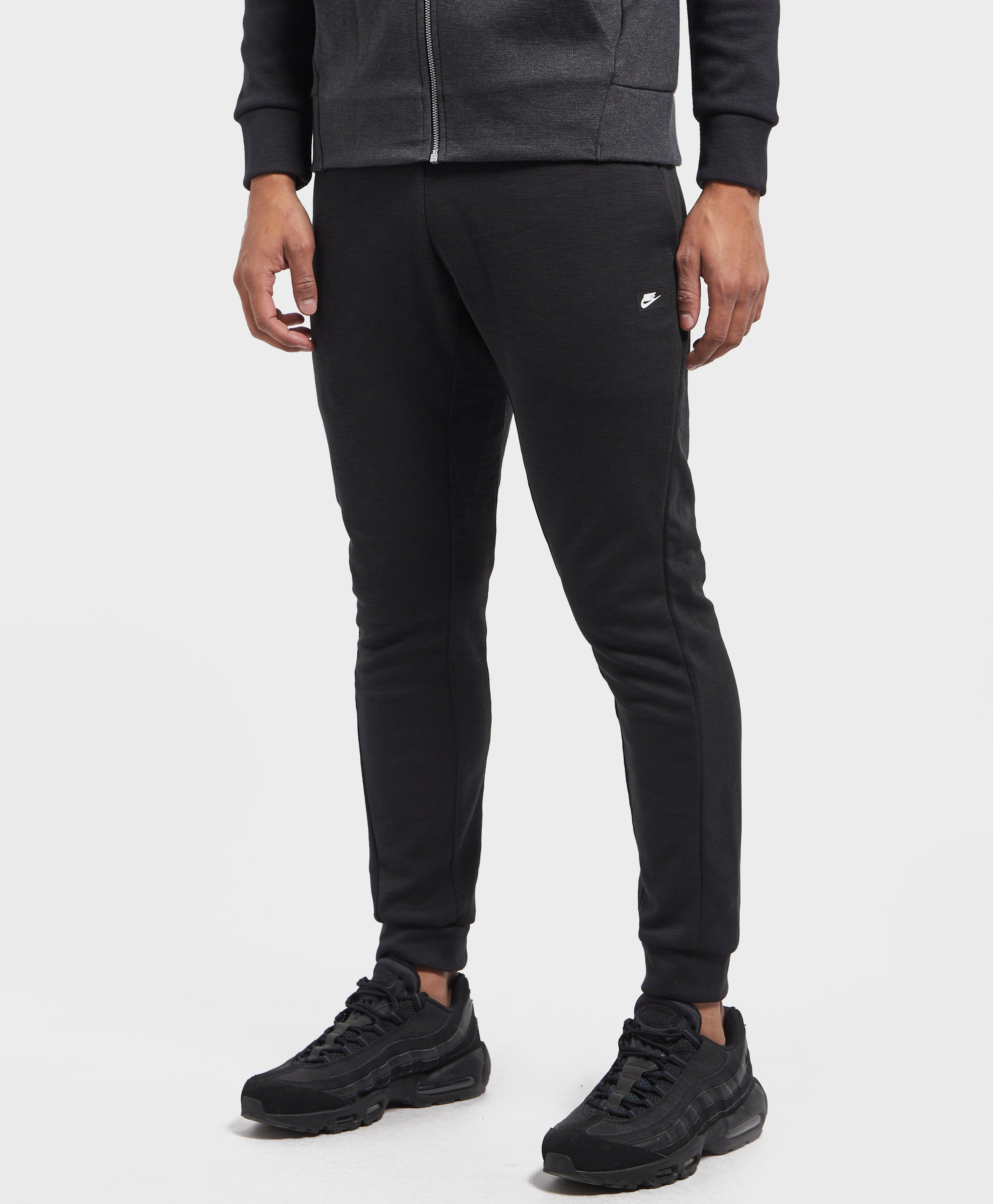 new product pretty cool enjoy free shipping Nike Black Optic Fleece Pants for men
