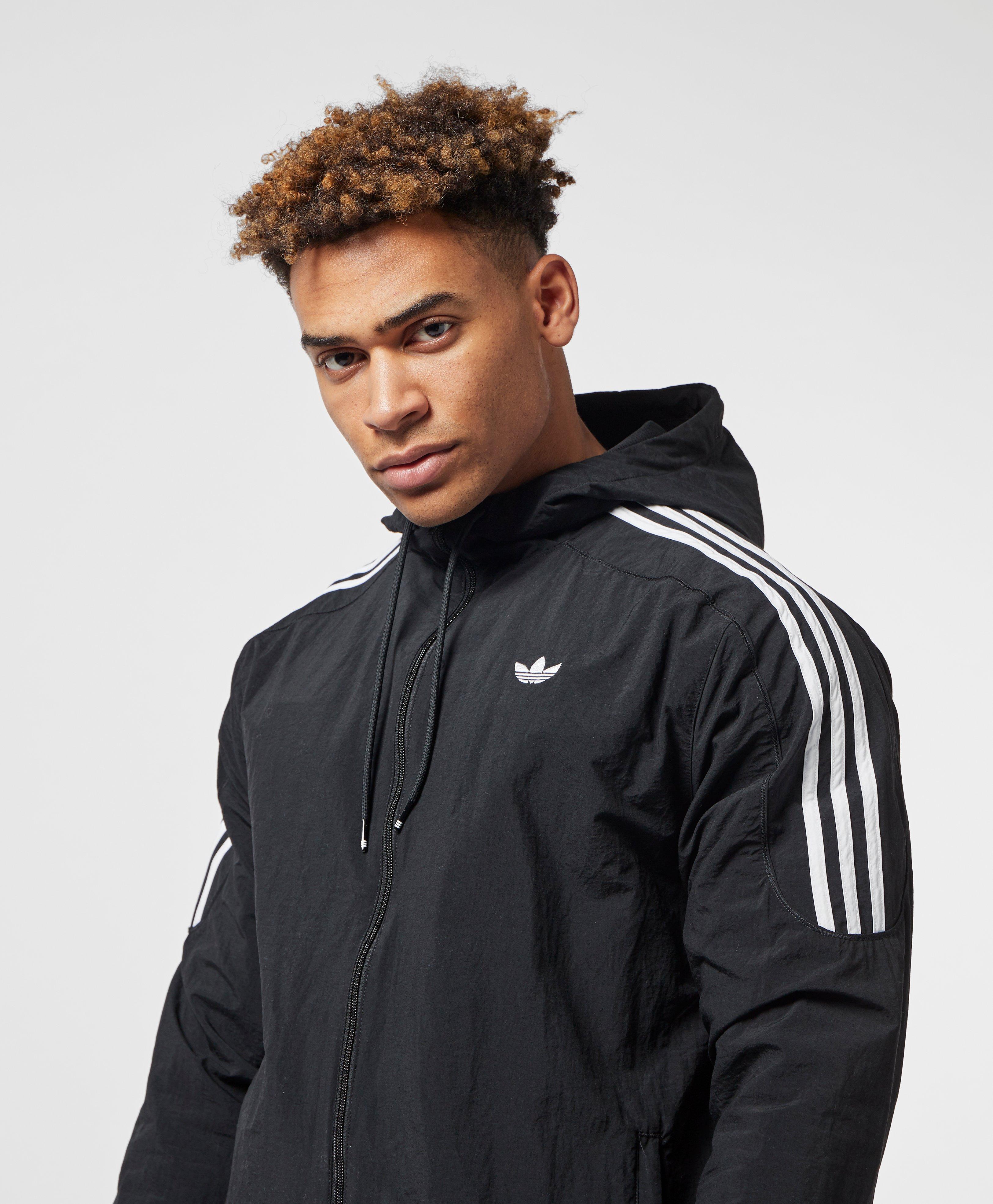 b4f9c6eb Adidas Originals Black Radkin Windbreaker Jacket for men