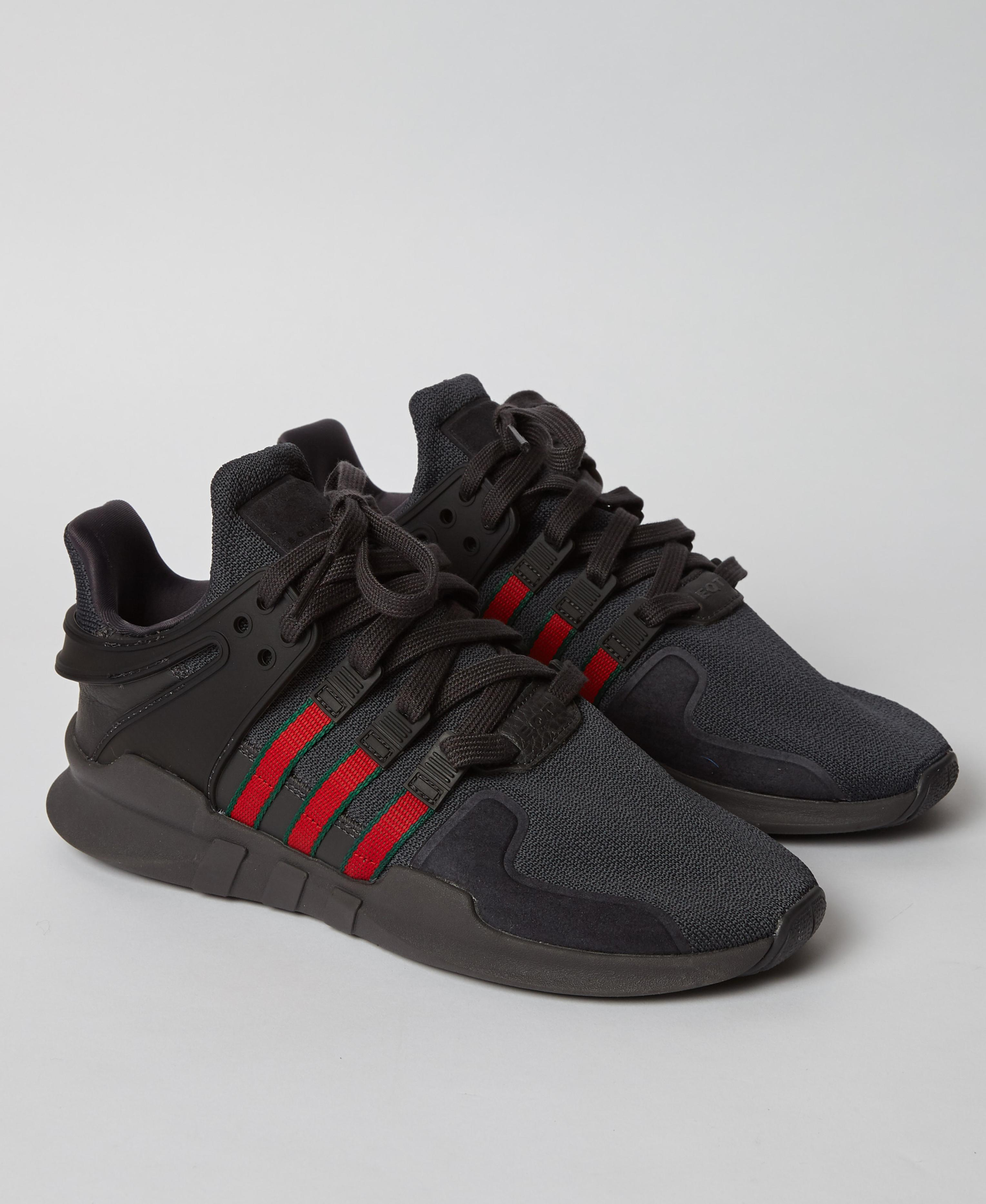 best service 6c2e1 3cf7d Adidas Black Eqt Support Adv