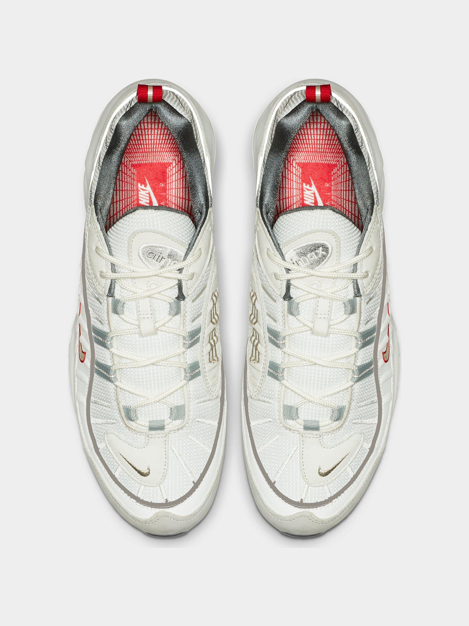 2e742de95d9a Lyst - Nike Air Max 98 Summit White in White for Men - Save 11%