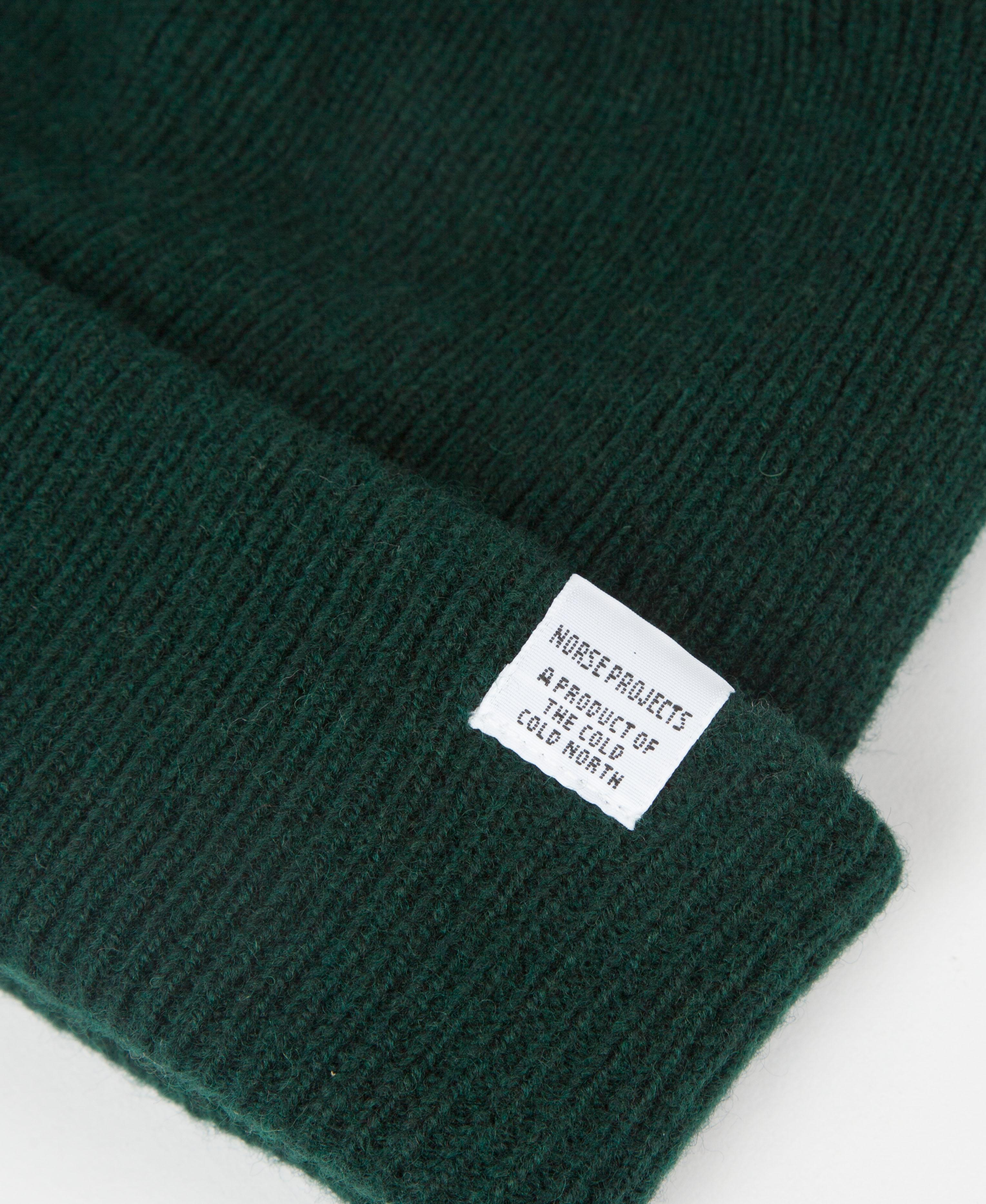 2dba72c214e Norse Projects Norse Beanie in Green for Men - Lyst