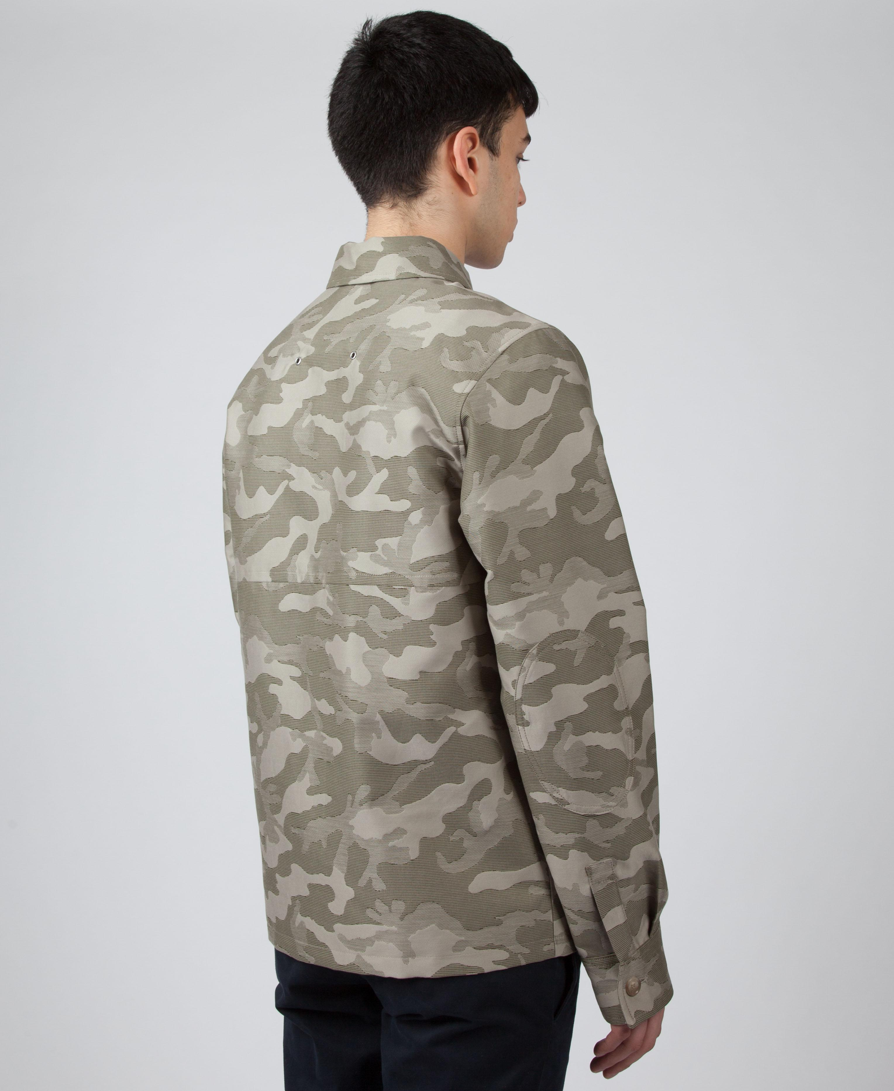7fee374a4f4ee A.P.C. Crocket Army Jacket for Men - Lyst