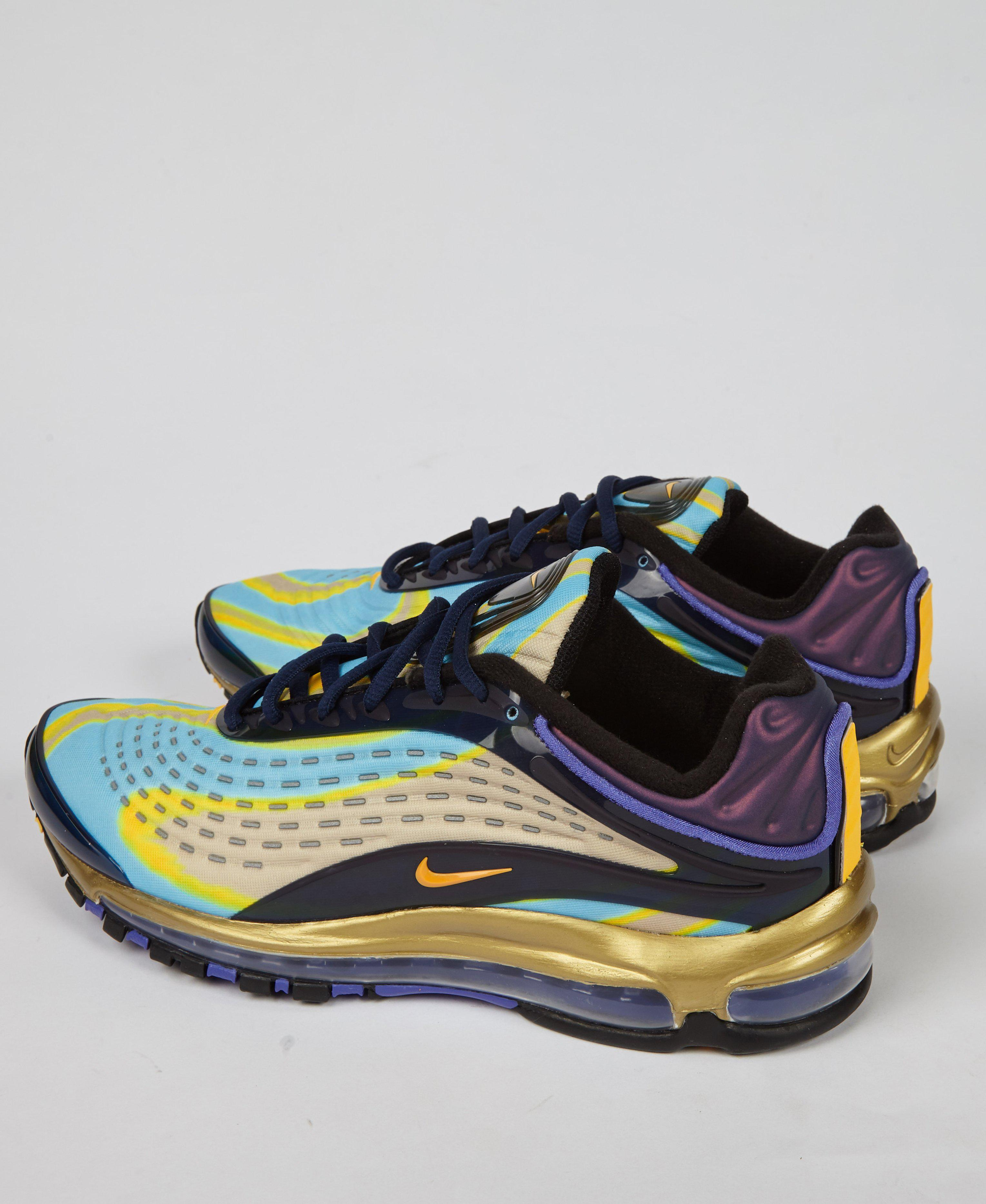 huge selection of 3fb3e b41de Nike Air Max Deluxe  midnight Lazer  in Blue for Men - Lyst