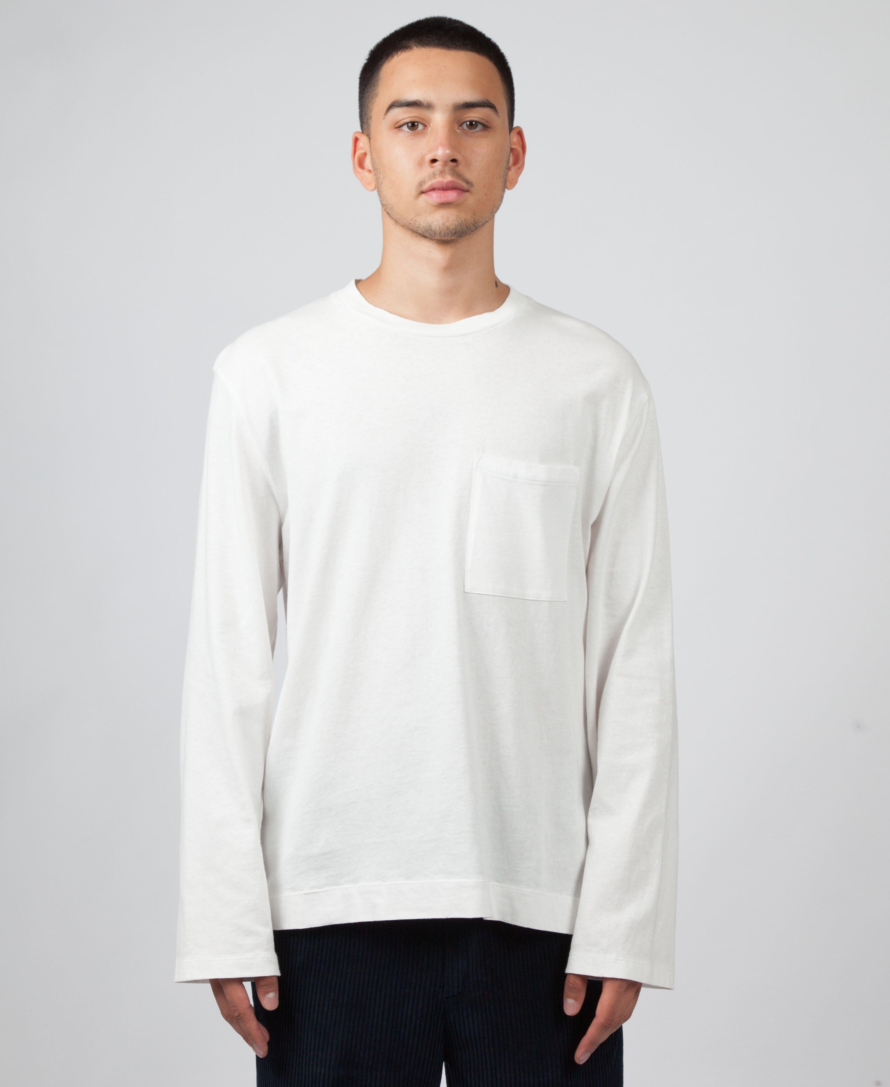 6d114efdaed1 Lyst - Our Legacy Box Longsleeve T-shirt in White for Men