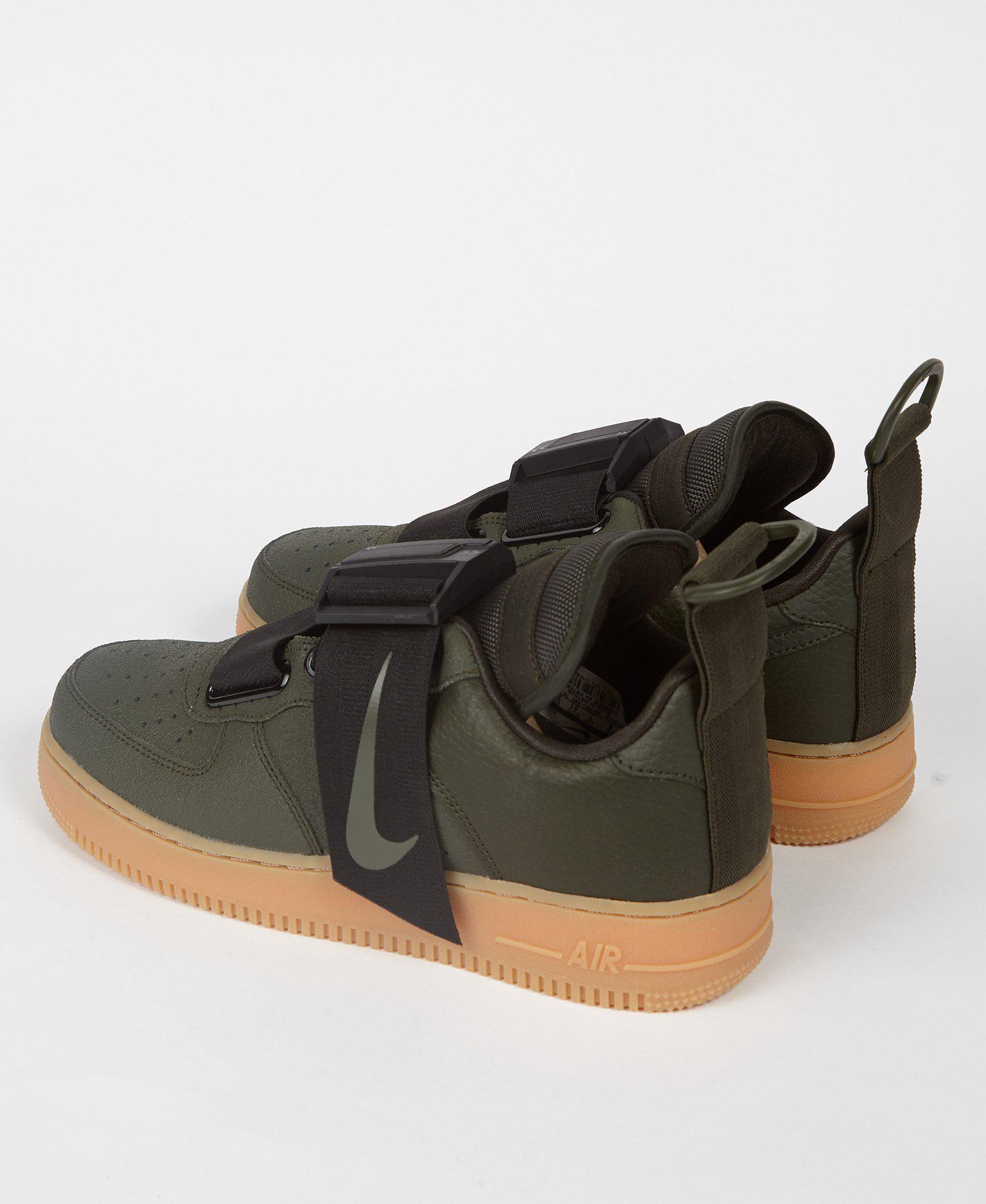 3ae362071038ef Lyst - Nike Air Force 1 Utility Sequoia Green for Men