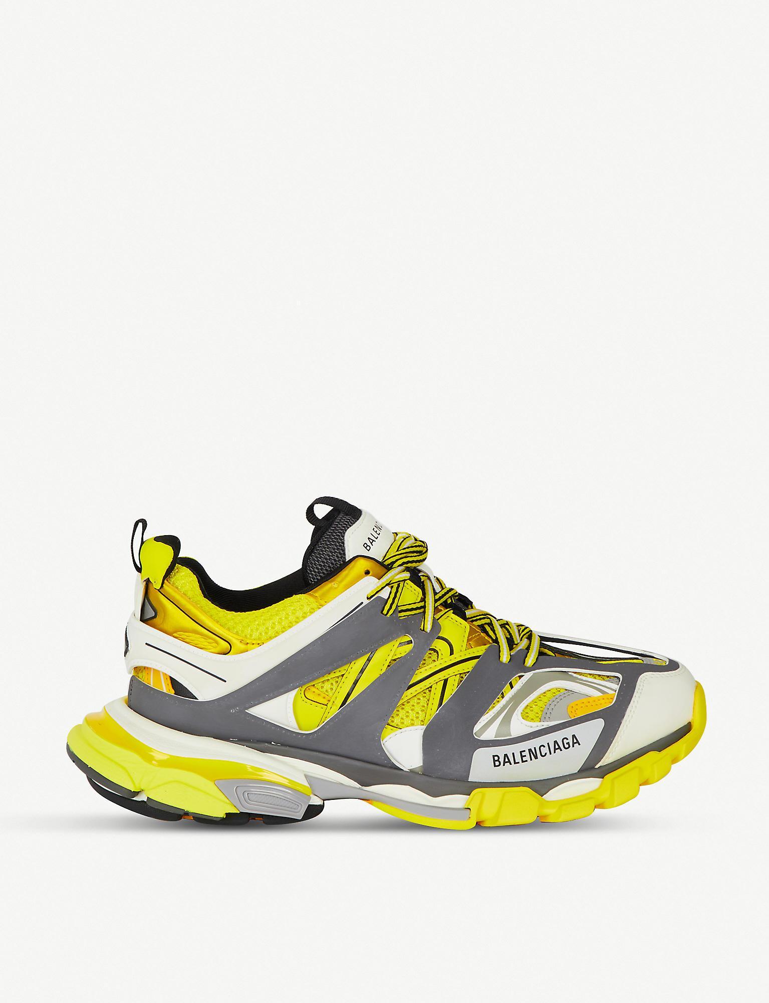 USED Balenciaga Track Trainers Running