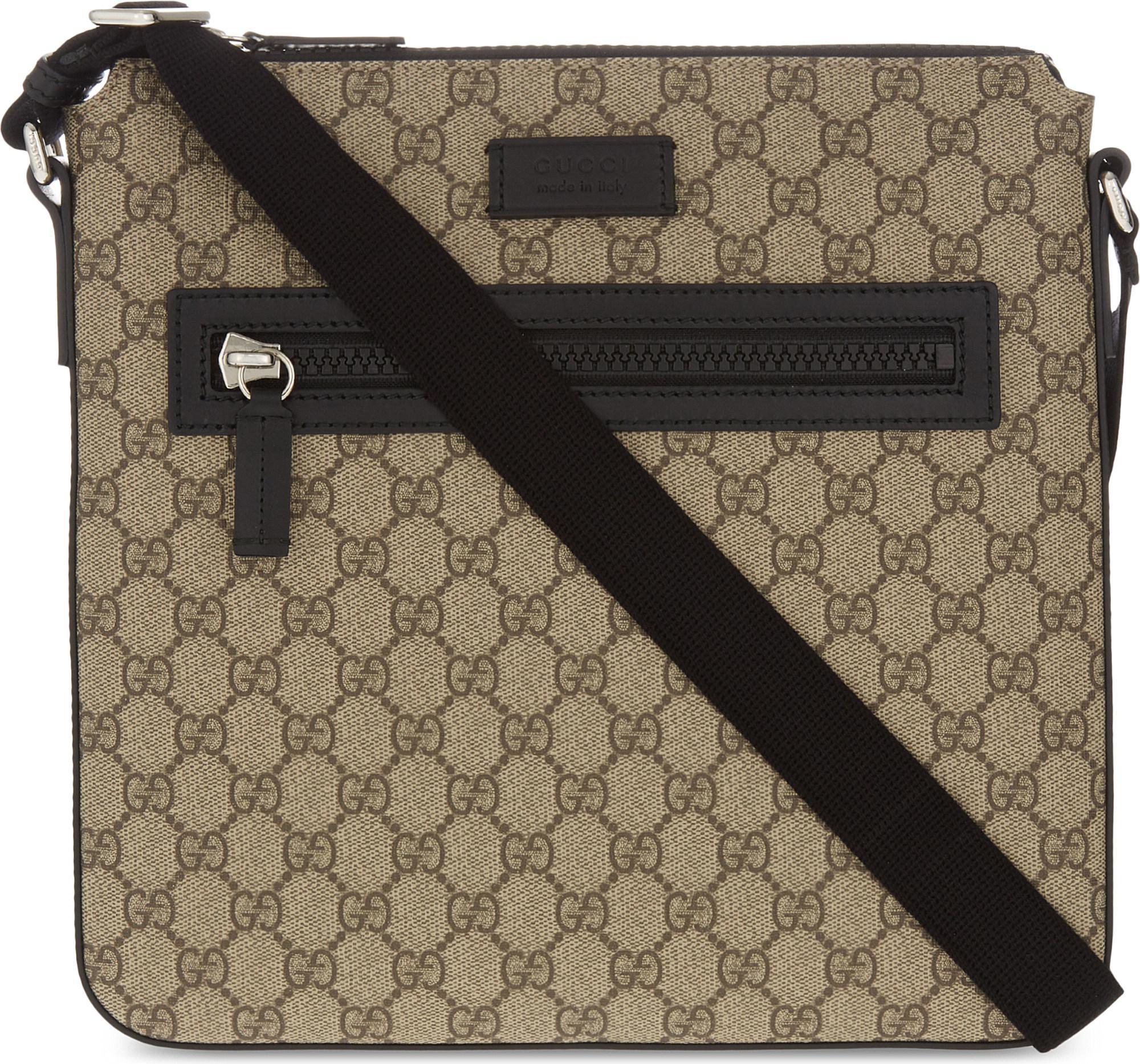 539272593a Gucci Multicolor Gg Supreme Flight Bag for men