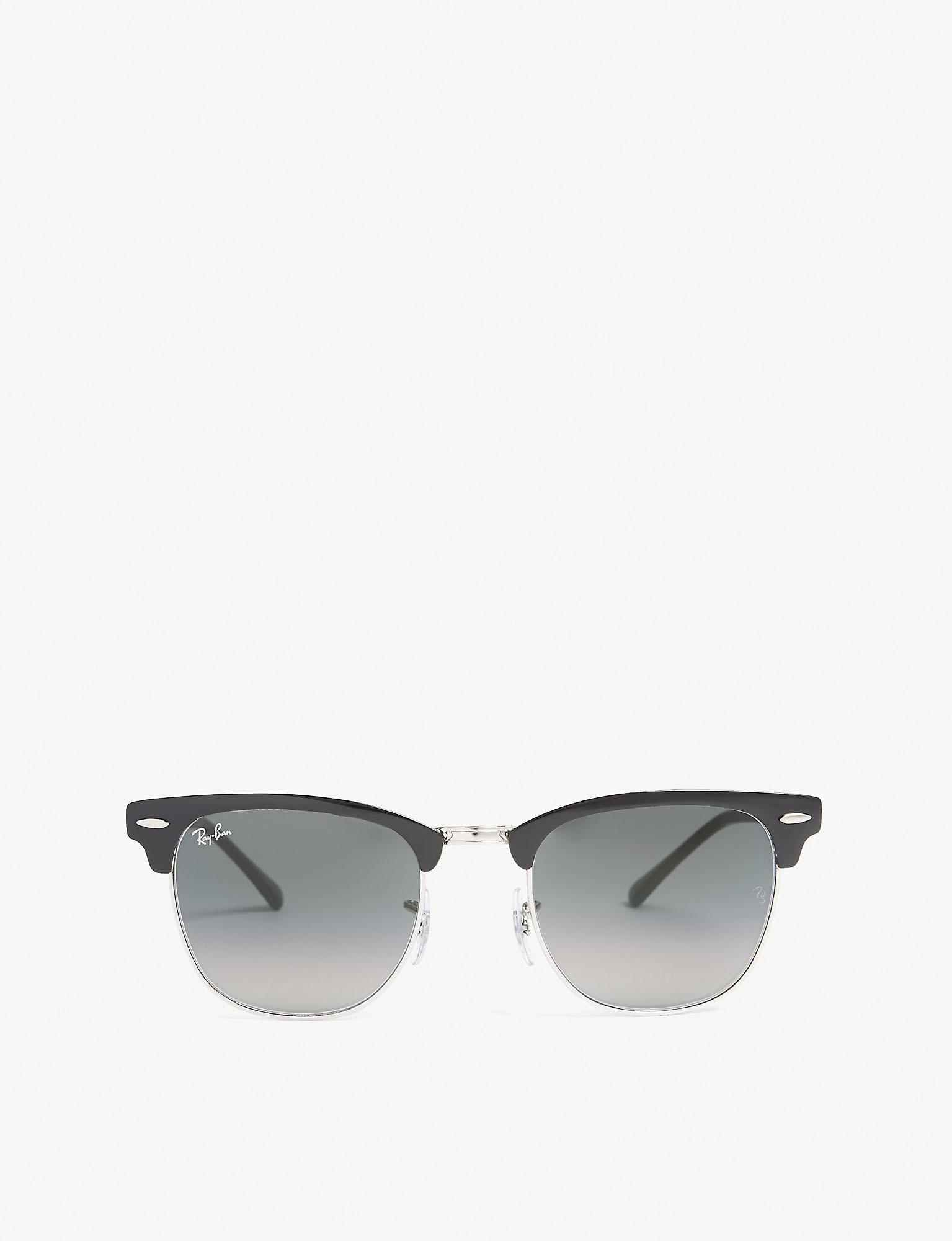 f9a40b944feef Lyst - Ray-Ban Rb3716 Square-frame Sunglasses in Black