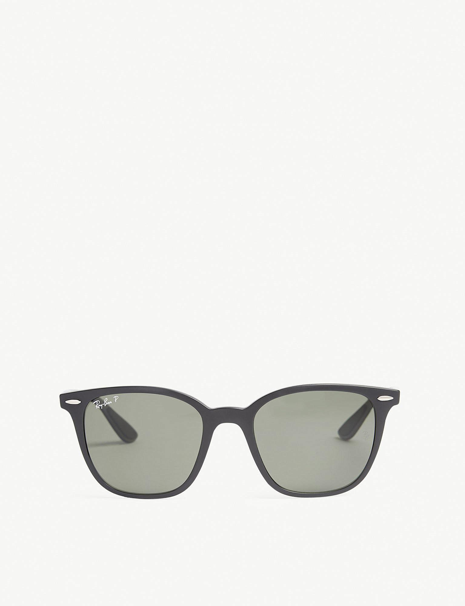 087586bf5cf Ray-Ban Rb4297 Square-frame Sunglasses in Black - Lyst