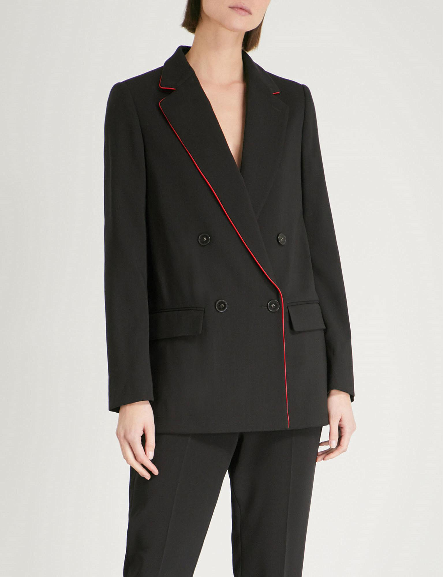 Collections Sale Online Milly tuxedo jacket - Black Stella McCartney From China Online Cheap Sale Fashion Style bBpCjgq