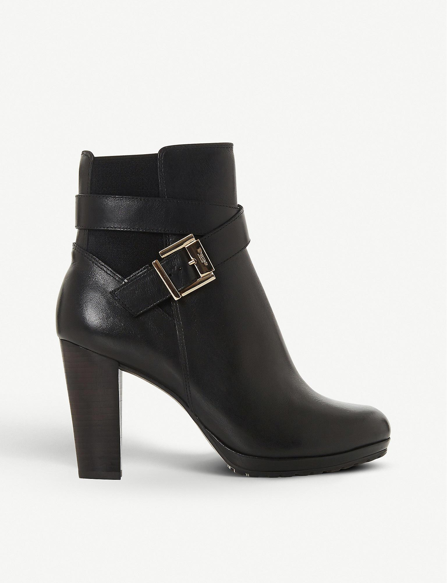 Dune Orrion Leather Ankle Boots in