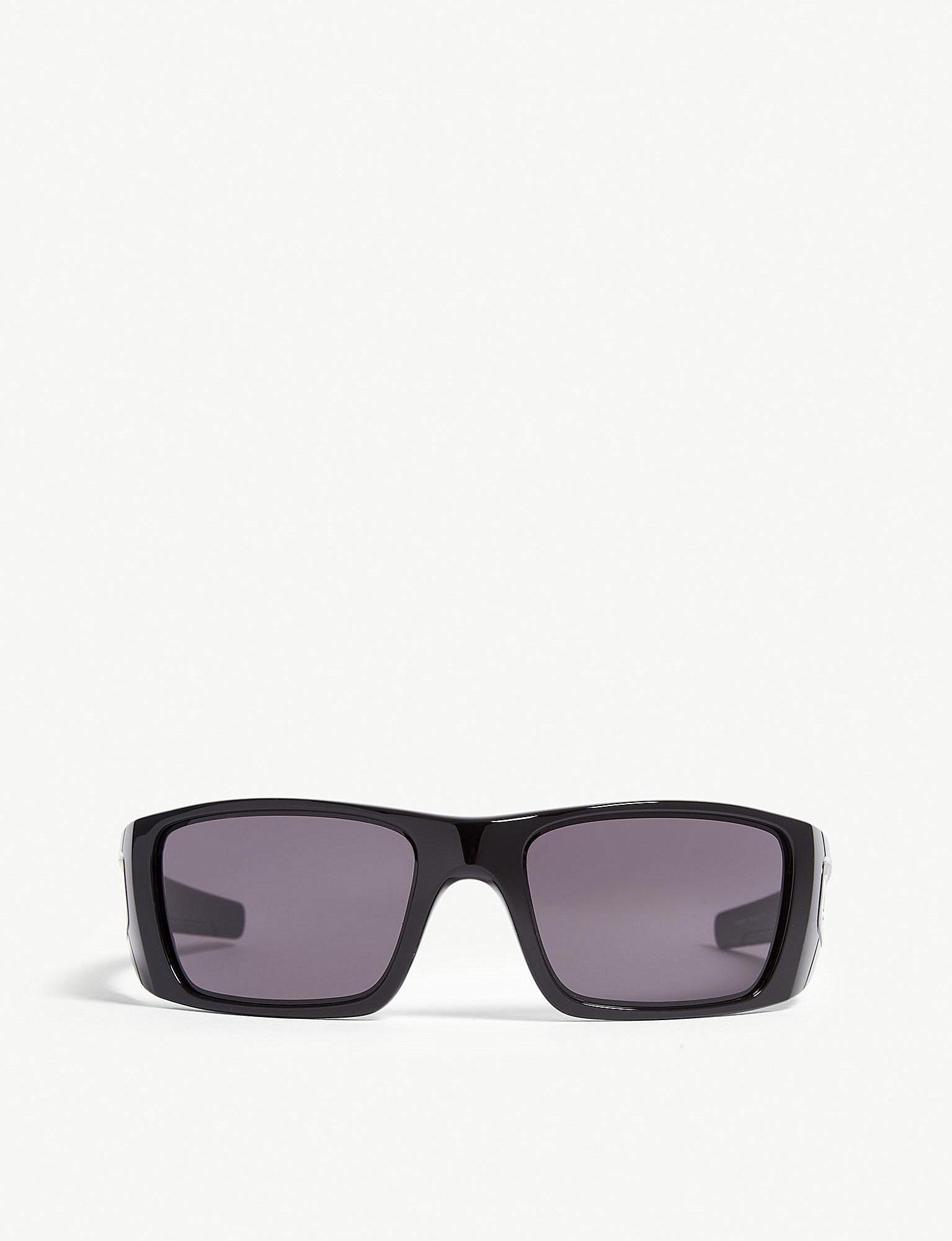 82452e38623 Lyst - Oakley Fuel Cell Rectangle-frame Sunglasses in Black for Men