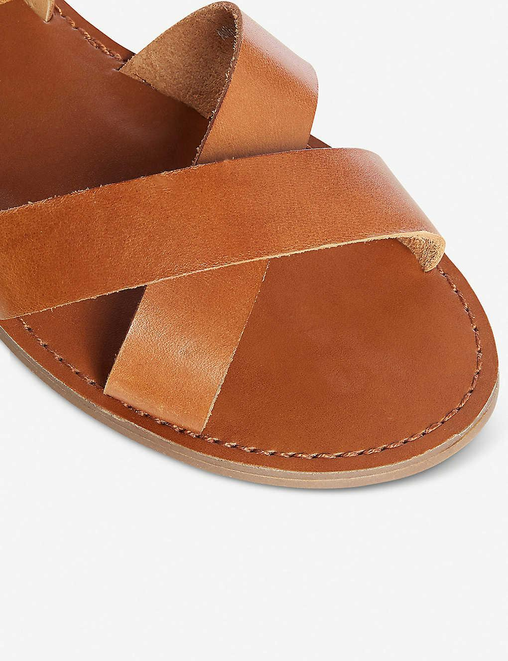 Lavell' Wide Fit Ankle Strap Sandals