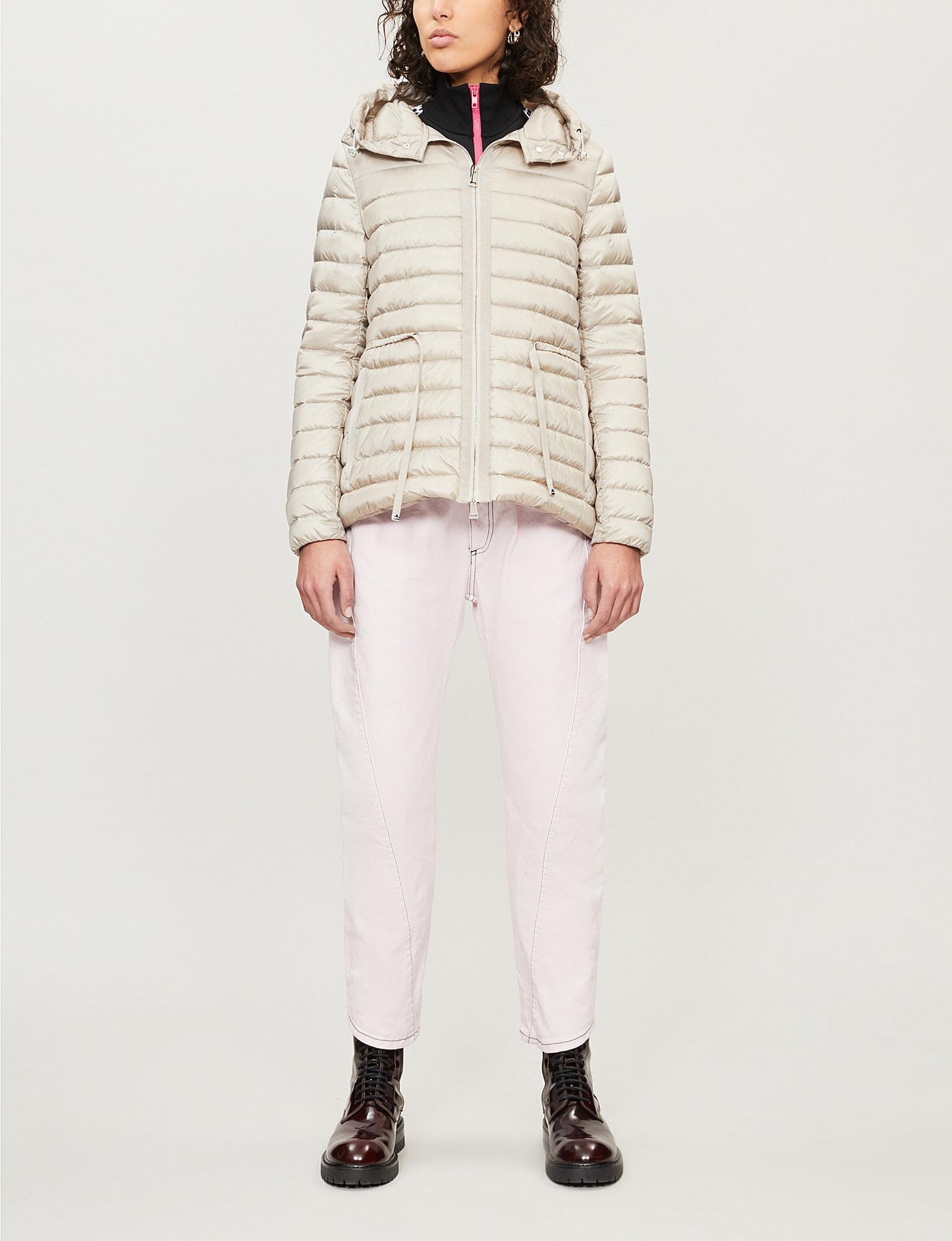 7db1bfa58 Moncler Raie Quilted Coat - Lyst
