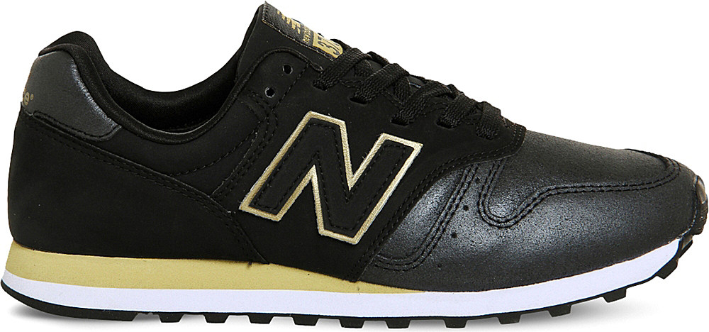 ea37c06968cad ... germany lyst new balance 373 suede and mesh trainers in black for men  6bcba e2cae