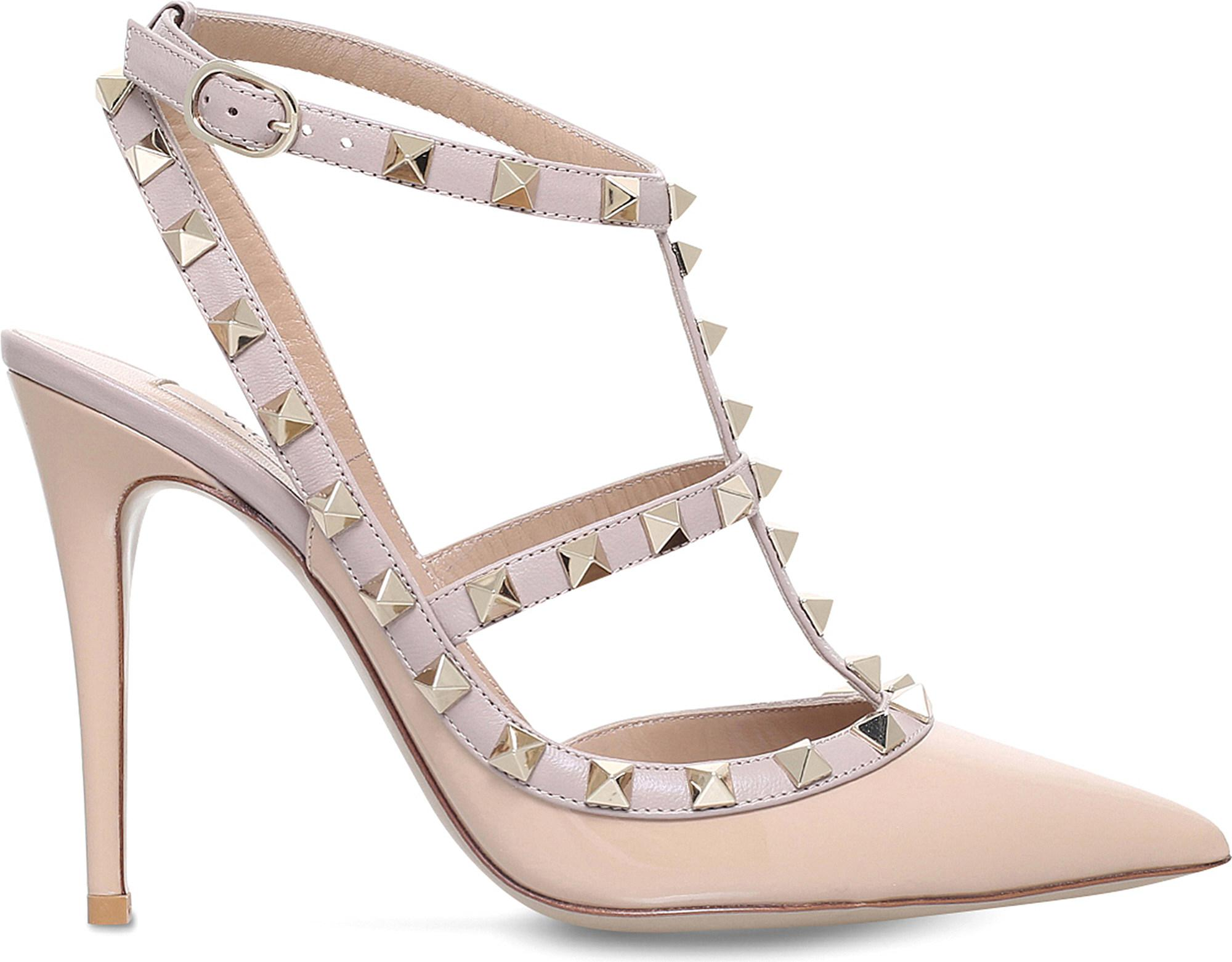 415af06b602 Valentino. Women s Rockstud 100 Leather Courts