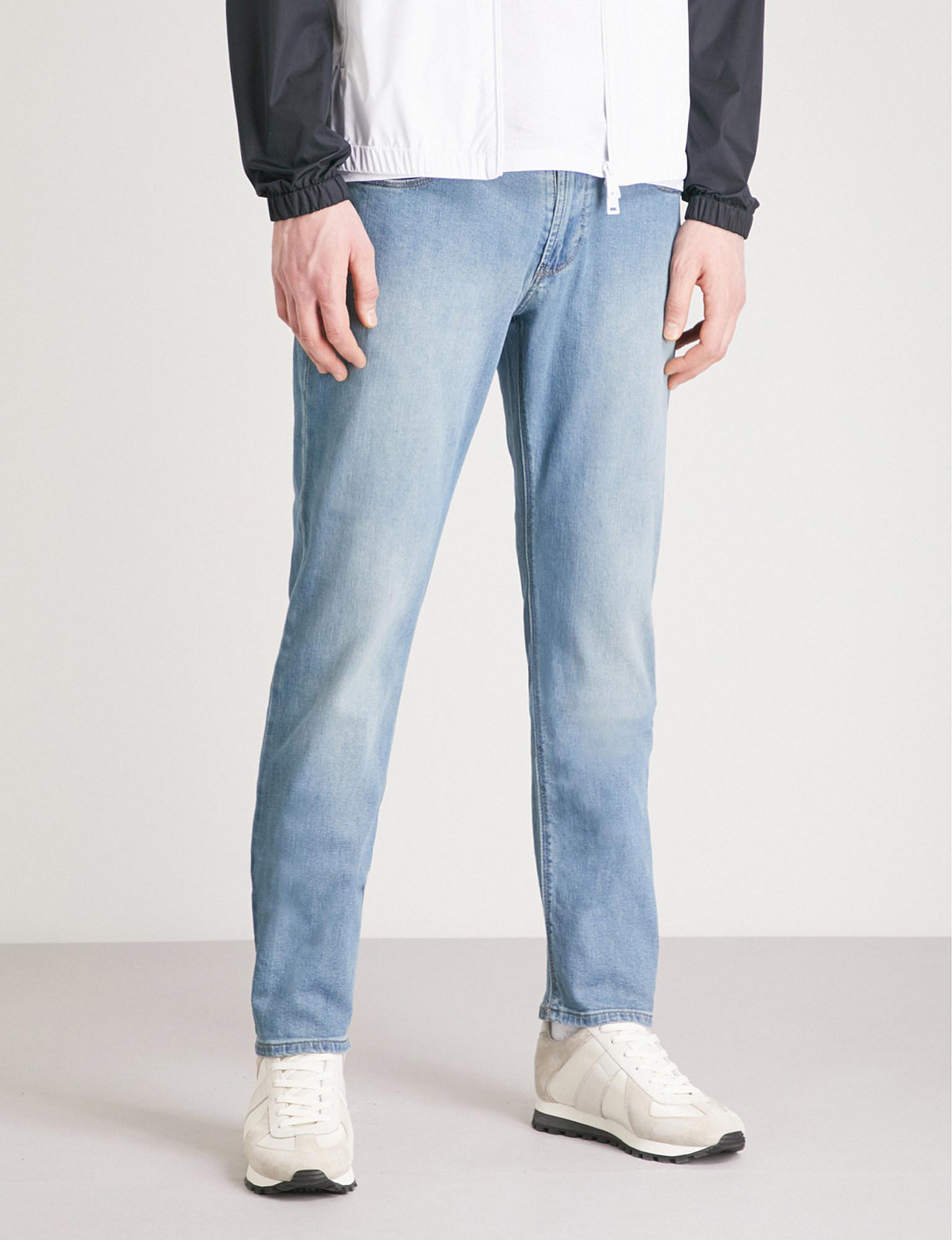 e0080ff7 Lyst - Emporio Armani J06 Slim-fit Straight Jeans in Blue for Men