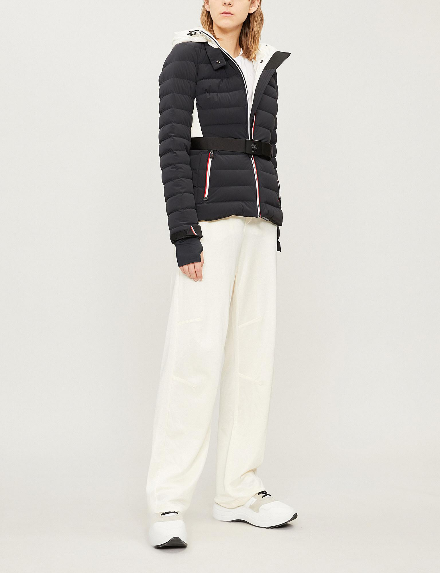 087a146de Lyst - Moncler Bruche Shell And Down-blend Jacket in Black