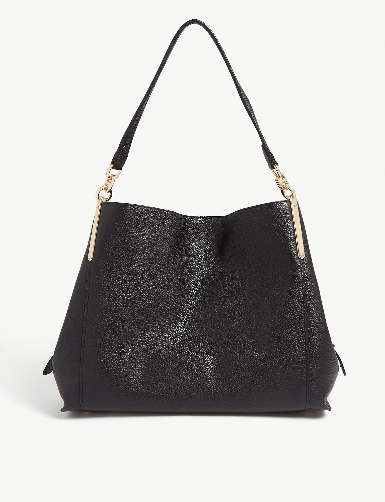 Dreamer 31 Grained Leather Hobo Bag