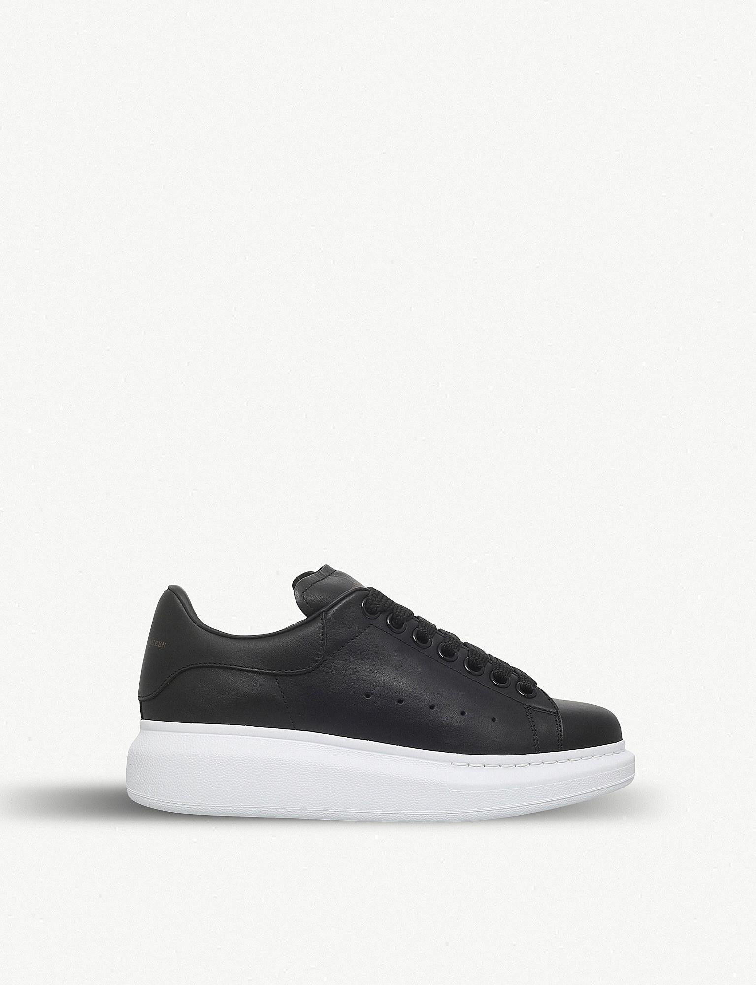 0aa6aa05fe2 https   www.lyst.com shoes alexander-mcqueen-runway-leather ...