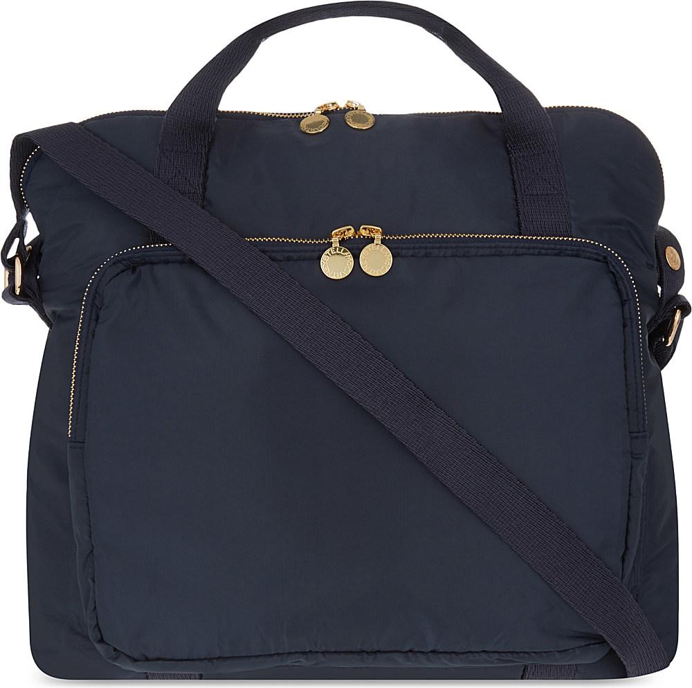 7399527ce7 Lyst - Stella McCartney Fern Changing Bag in Blue