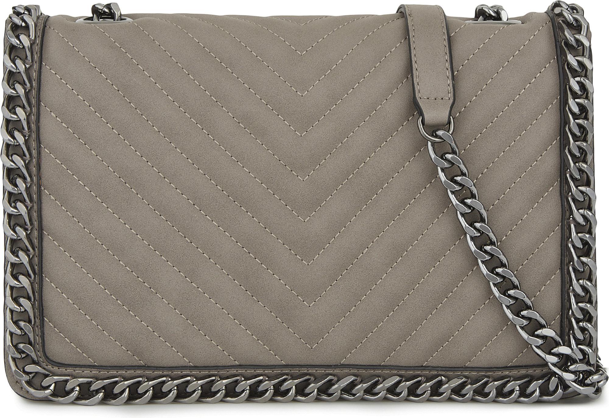 adc6147dba8 Lyst - ALDO Greenwald Faux-leather Shoulder Bag in Gray