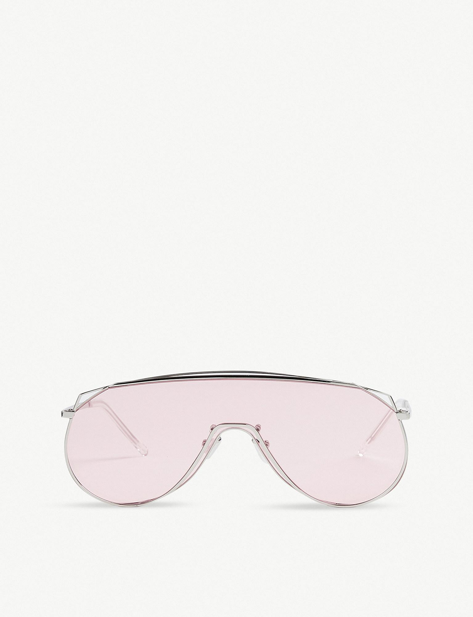 2810554a44 Gentle Monster Afix Stainless Steel Sunglasses in Pink - Lyst