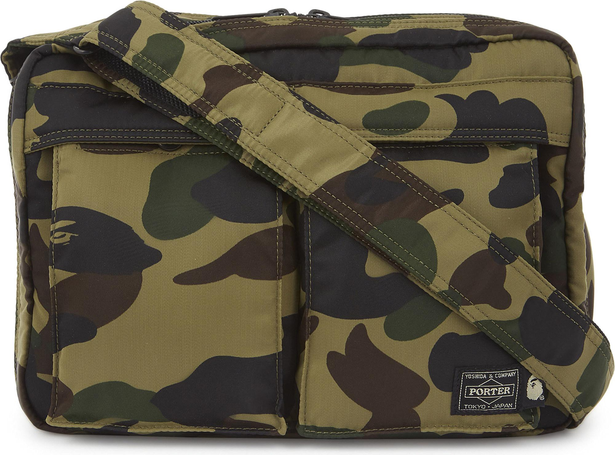 31bda0a2 A Bathing Ape 1st Camo Shoulder And Waist Bag in Green for Men - Lyst