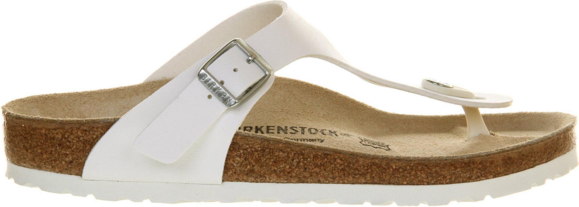 2a1015629e2f33 Birkenstock. Women s White Ramses Faux-leather Sandals