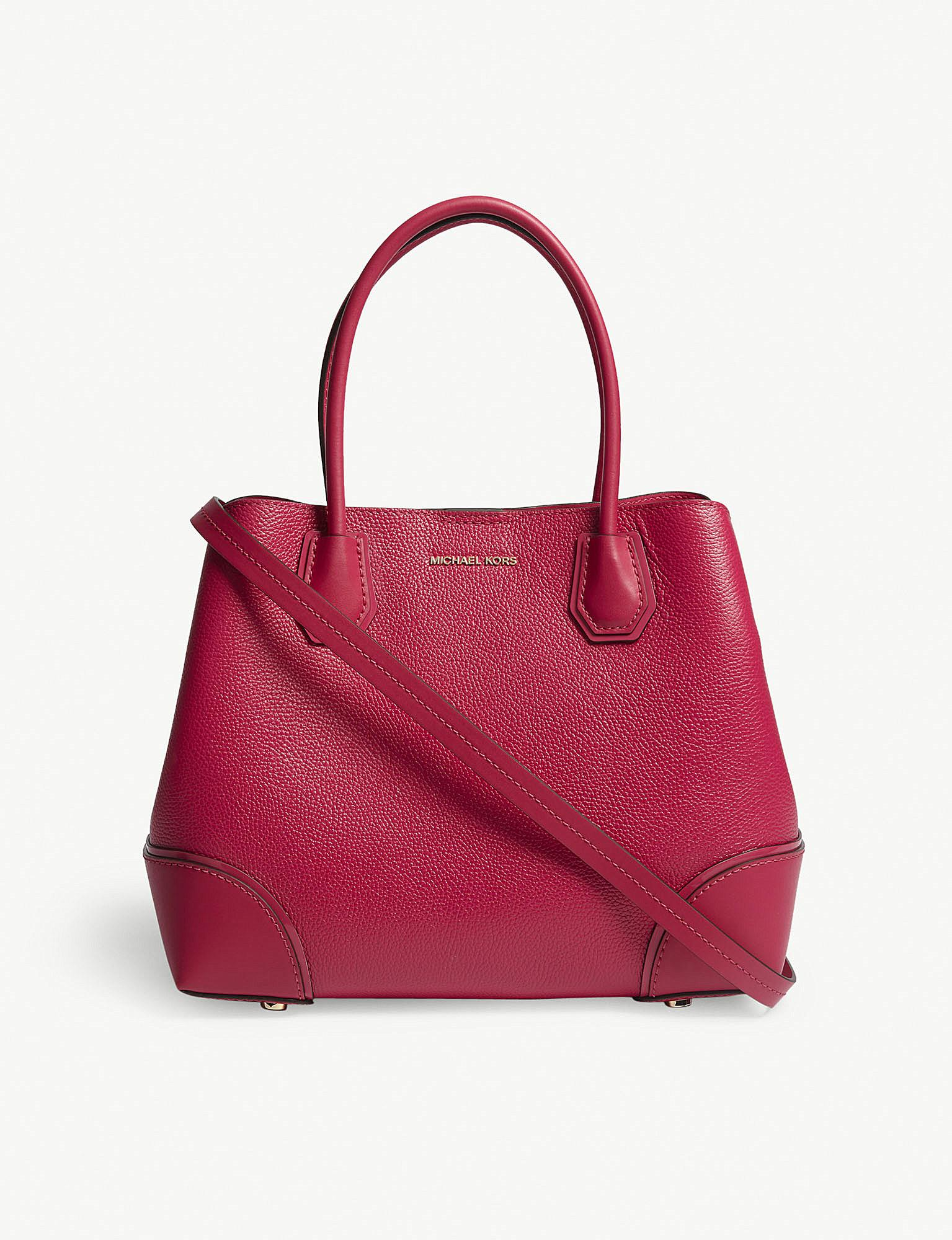 Michael Michael Kors Mercer Gallery Leather Tote In Ultra