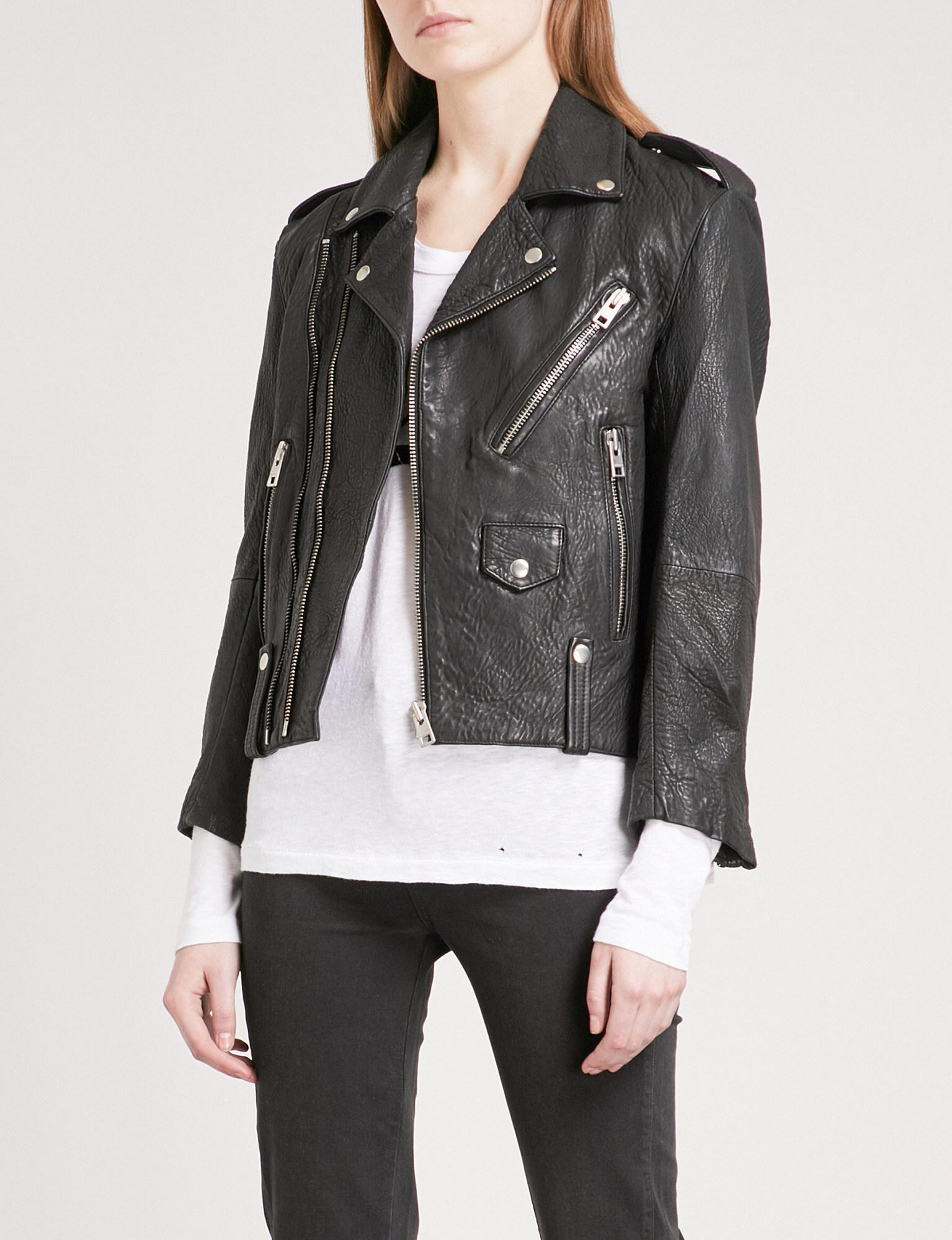 Zadig & Voltaire classic biker jacket - Black Original Online Enjoy Sale Online Clearance Latest Clearance Reliable vXyFERbRG